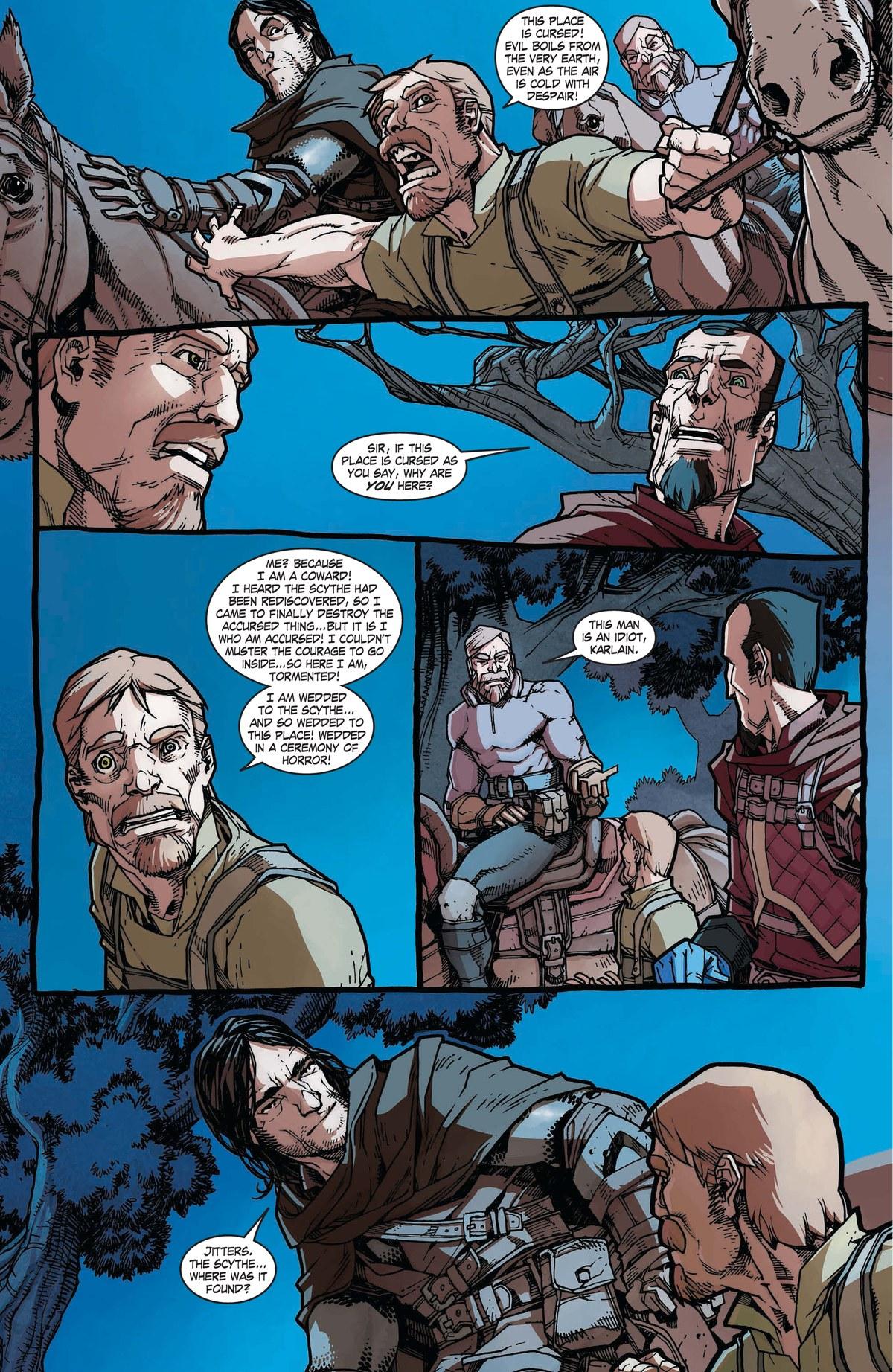 Read online World of Warcraft: Dark Riders comic -  Issue # Full - 57