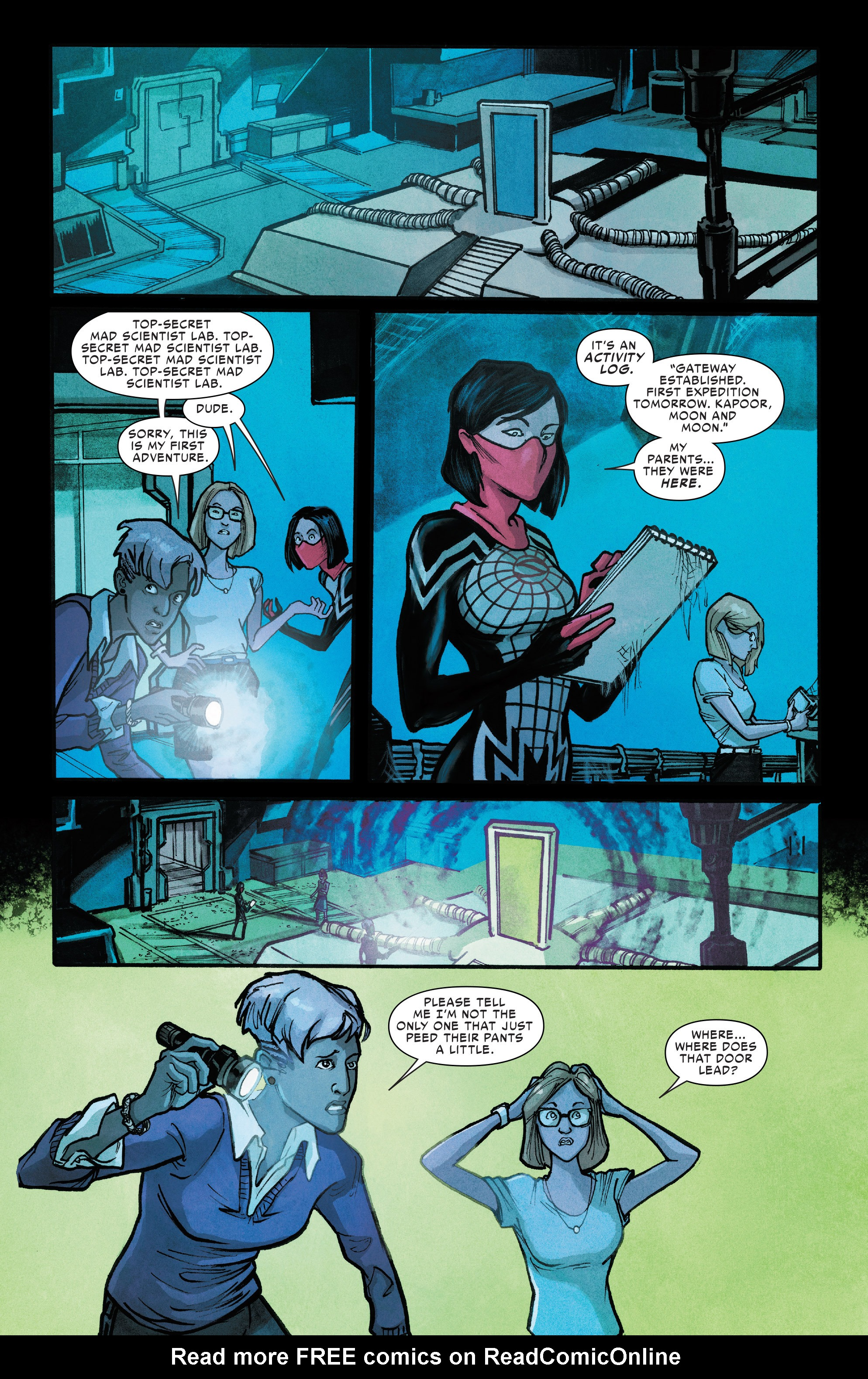 Read online Silk (2016) comic -  Issue #11 - 21