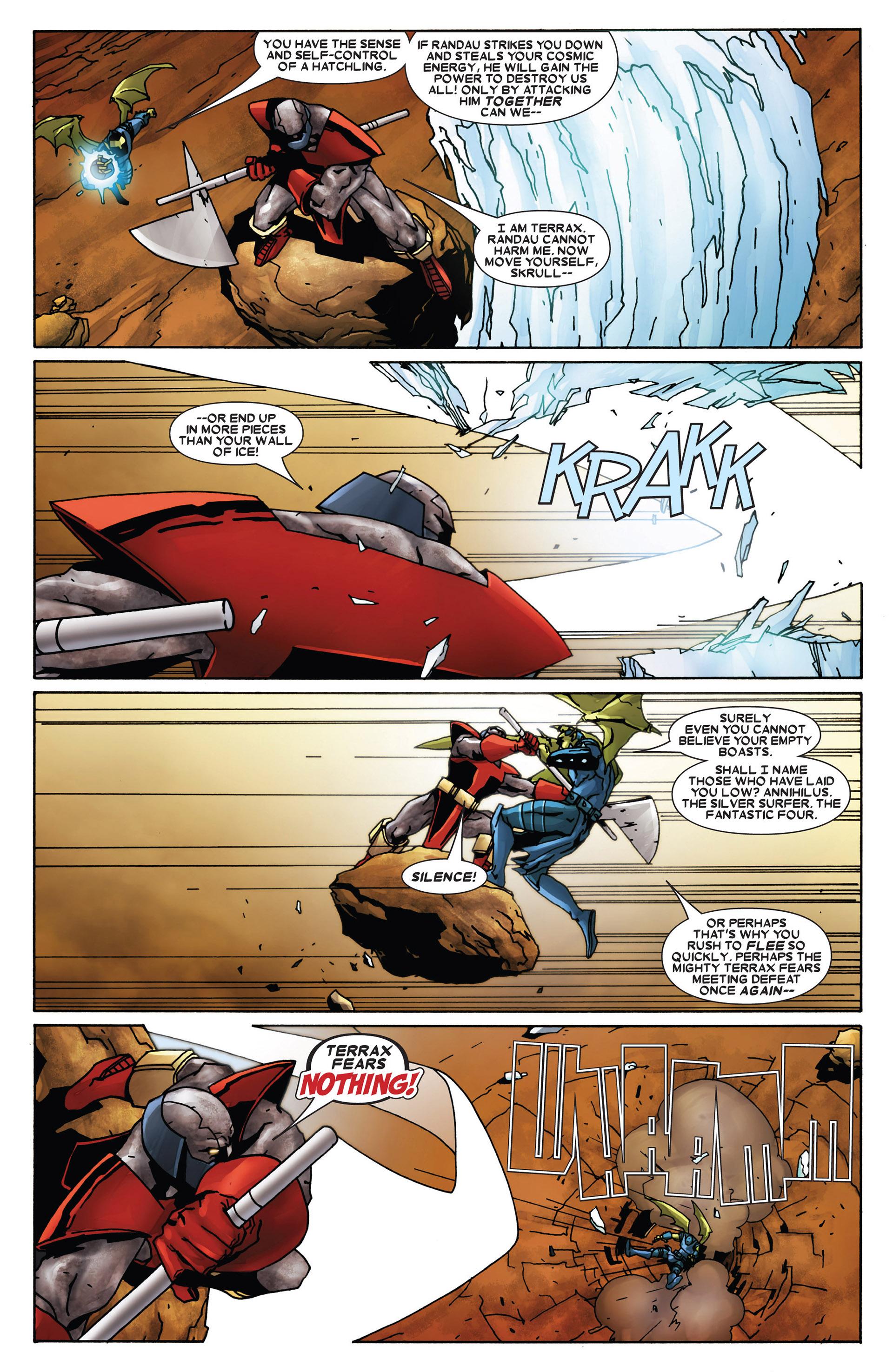 Read online Annihilation: Heralds Of Galactus comic -  Issue #1 - 10