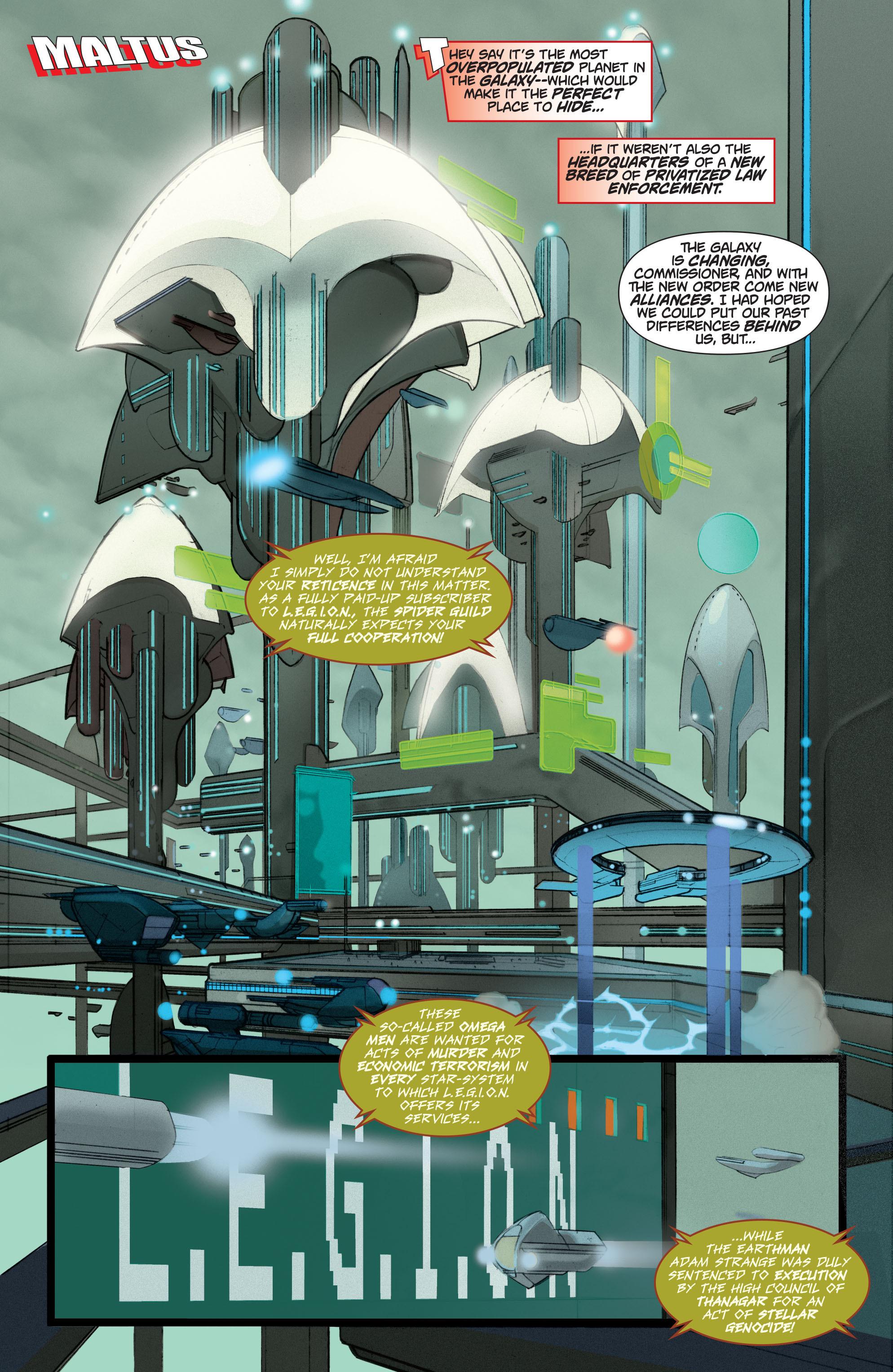 Read online Adam Strange (2004) comic -  Issue #5 - 17