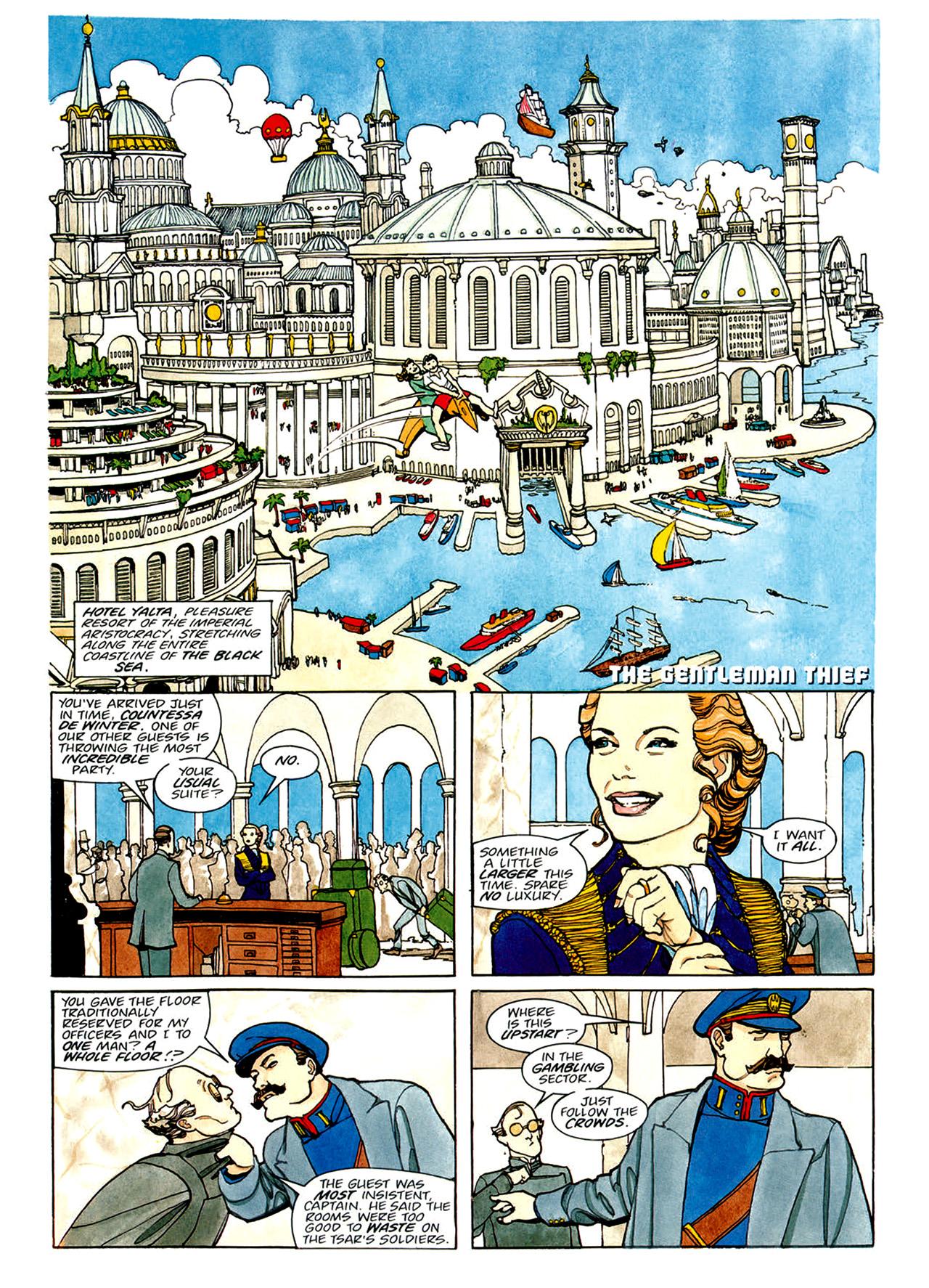 Read online Nikolai Dante comic -  Issue # TPB 1 - 100