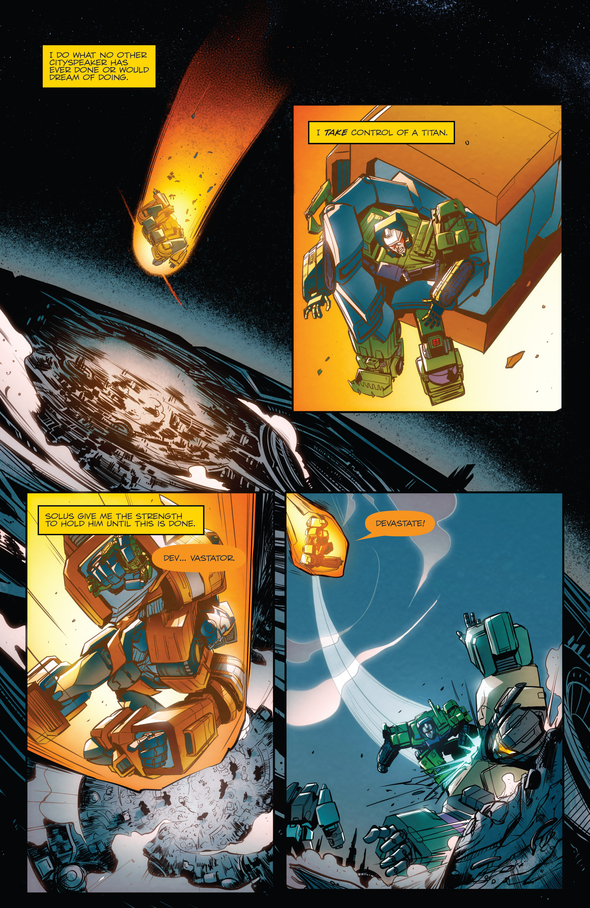 Read online Transformers: Till All Are One comic -  Issue #8 - 7