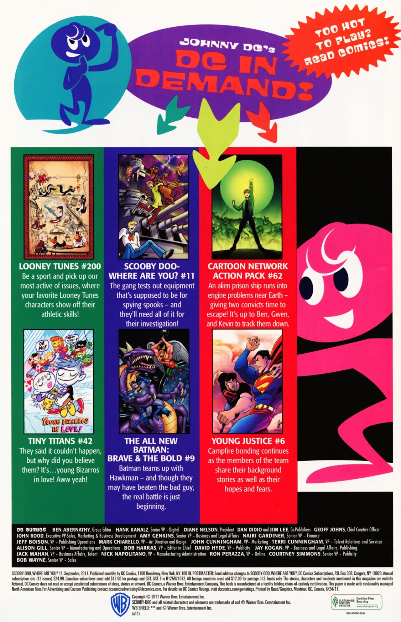 Read online Scooby-Doo: Where Are You? comic -  Issue #11 - 33