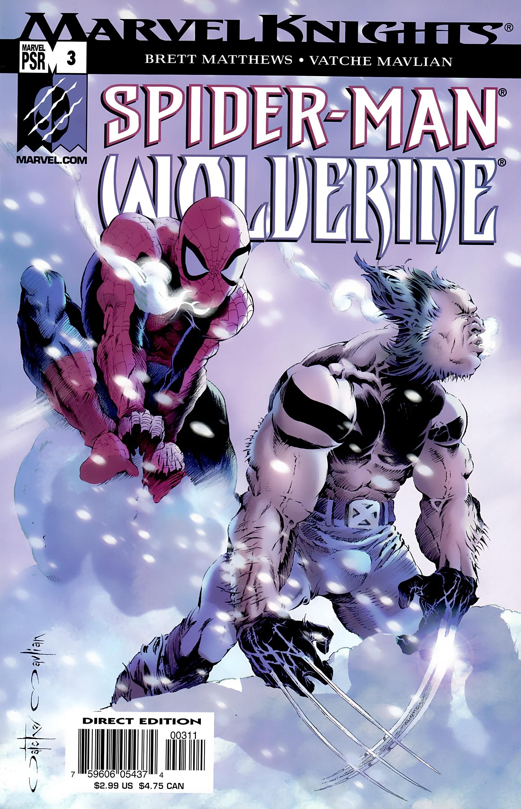 Spider-Man & Wolverine 3 Page 1