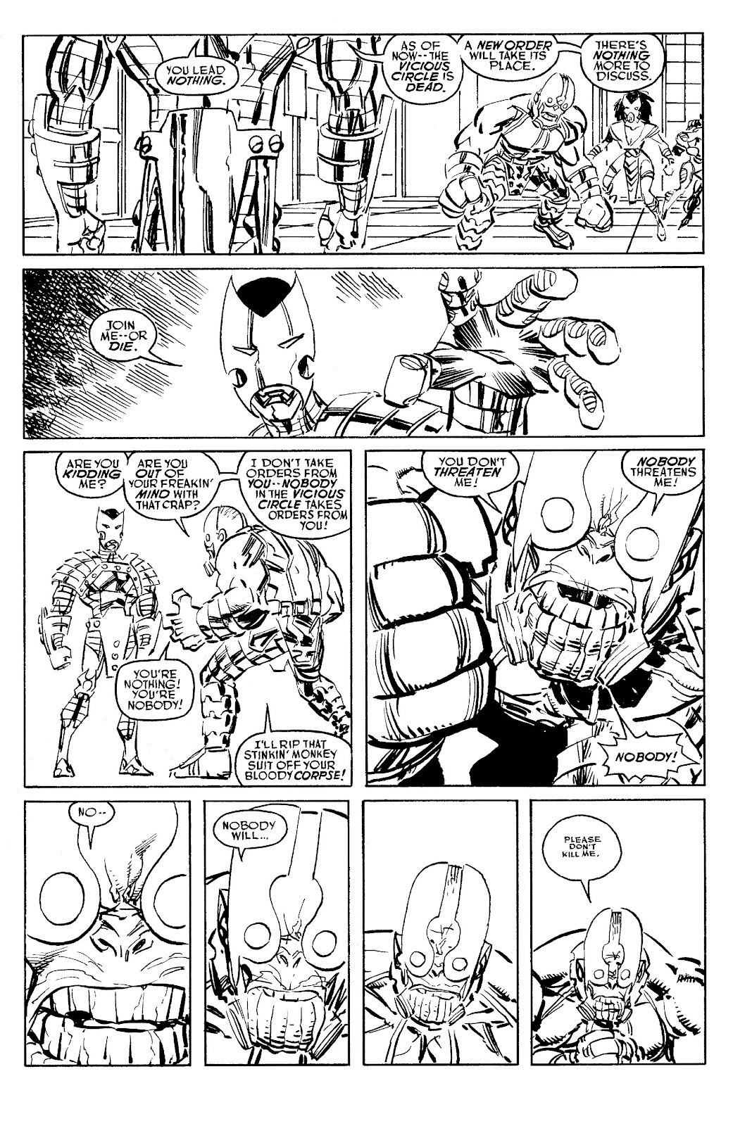 Read online Savage Dragon Archives comic -  Issue # TPB 6 (Part 5) - 100