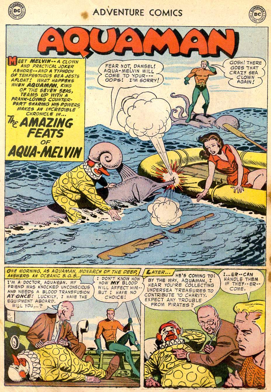 Read online Adventure Comics (1938) comic -  Issue #242 - 18
