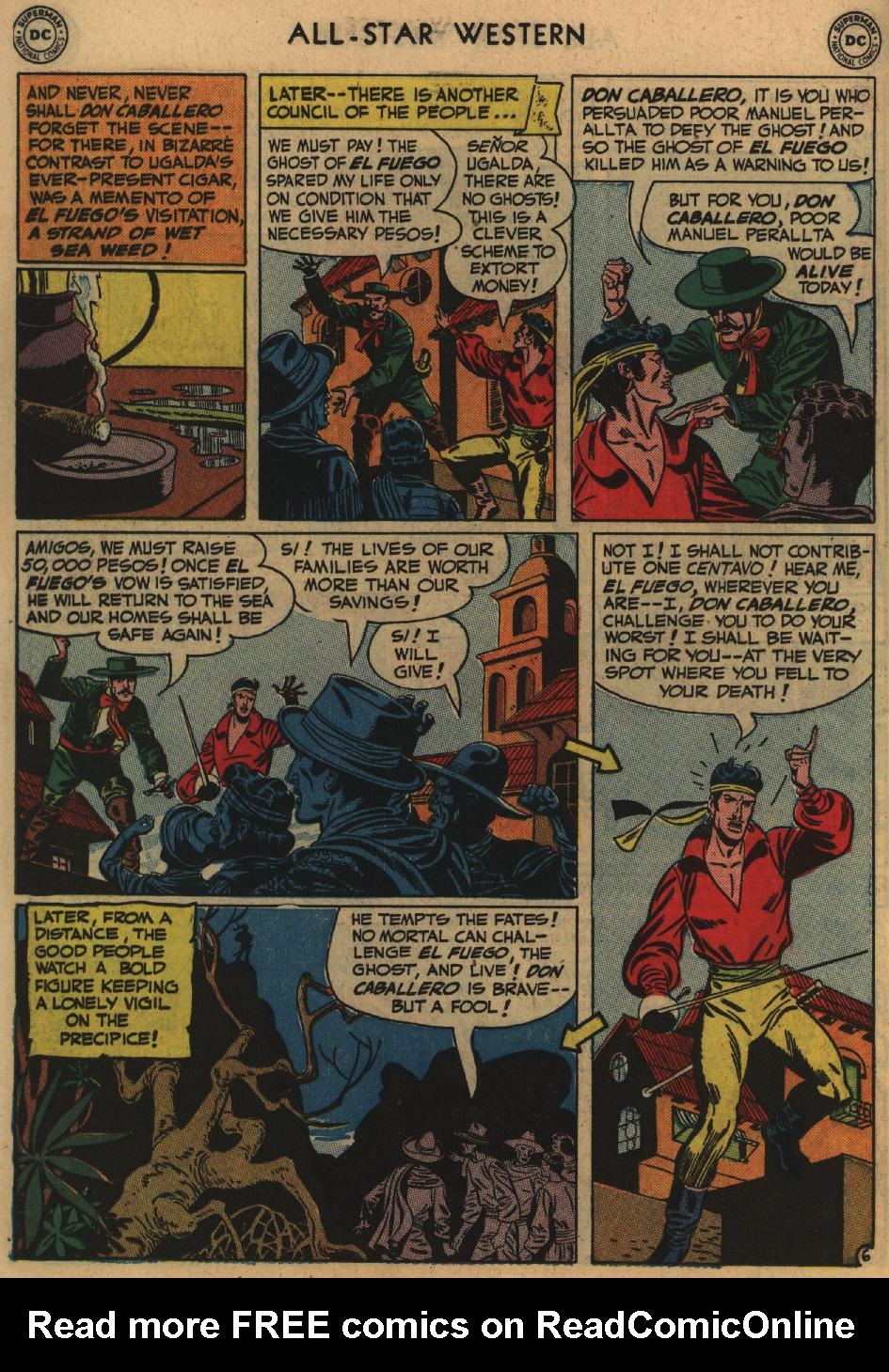 Read online All-Star Western (1951) comic -  Issue #60 - 20