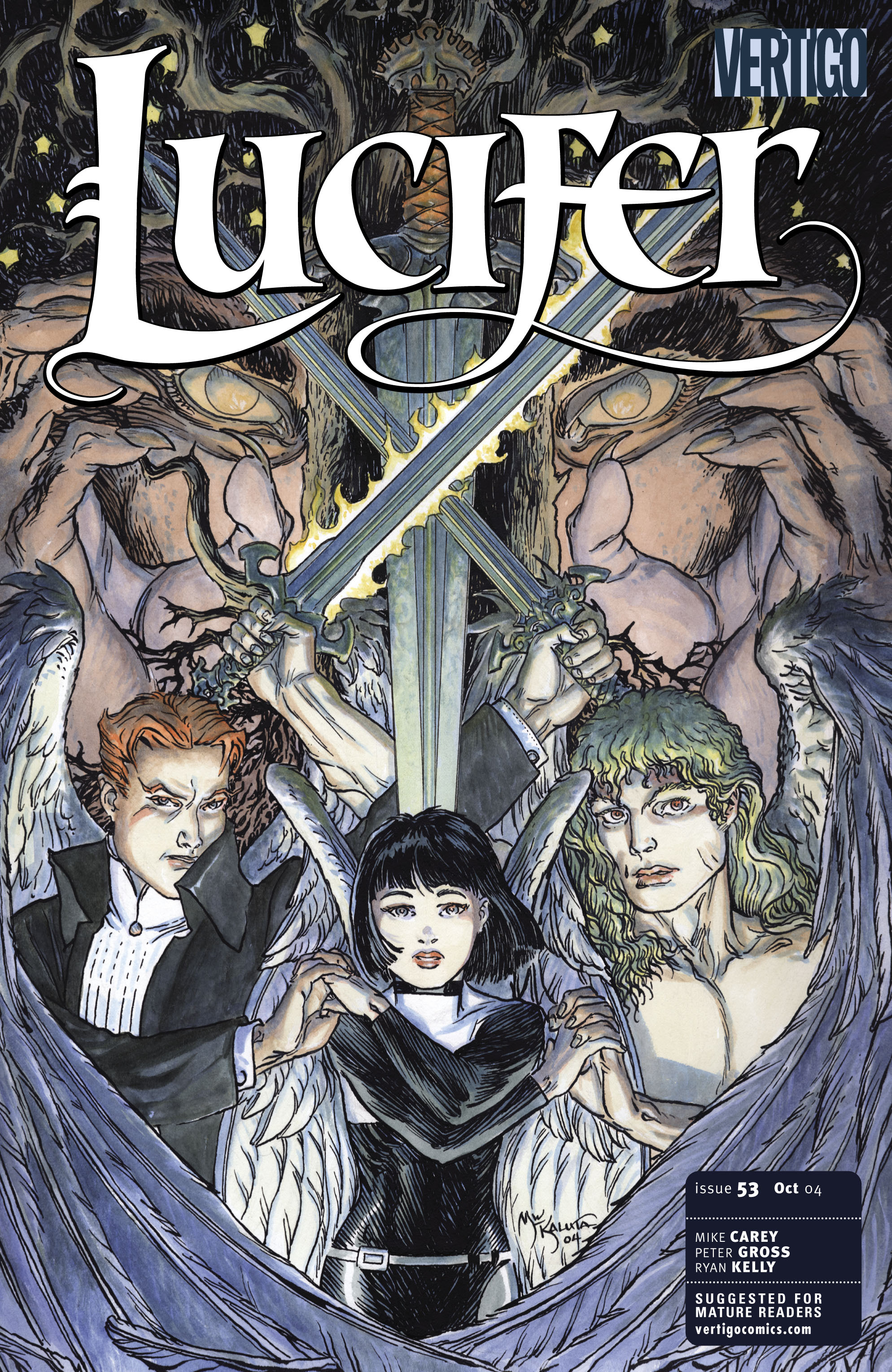 Lucifer (2000) issue 53 - Page 1