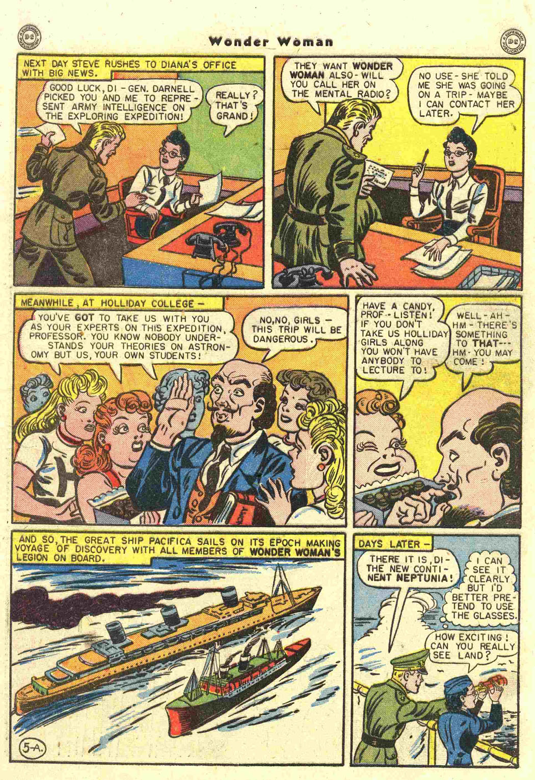 Read online Wonder Woman (1942) comic -  Issue #15 - 7