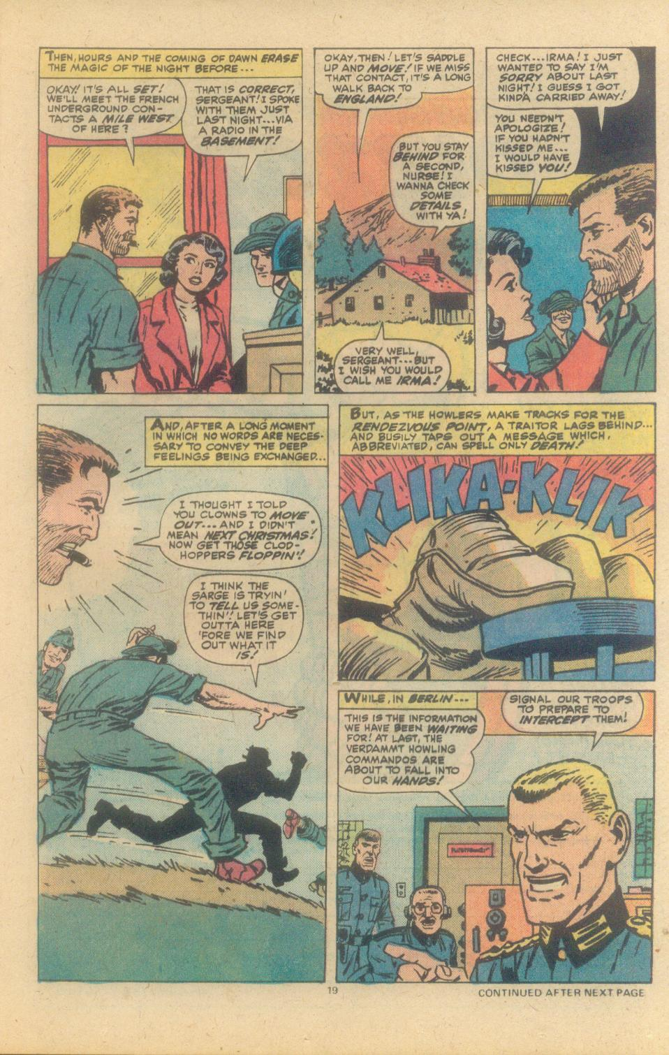 Read online Sgt. Fury comic -  Issue #150 - 21