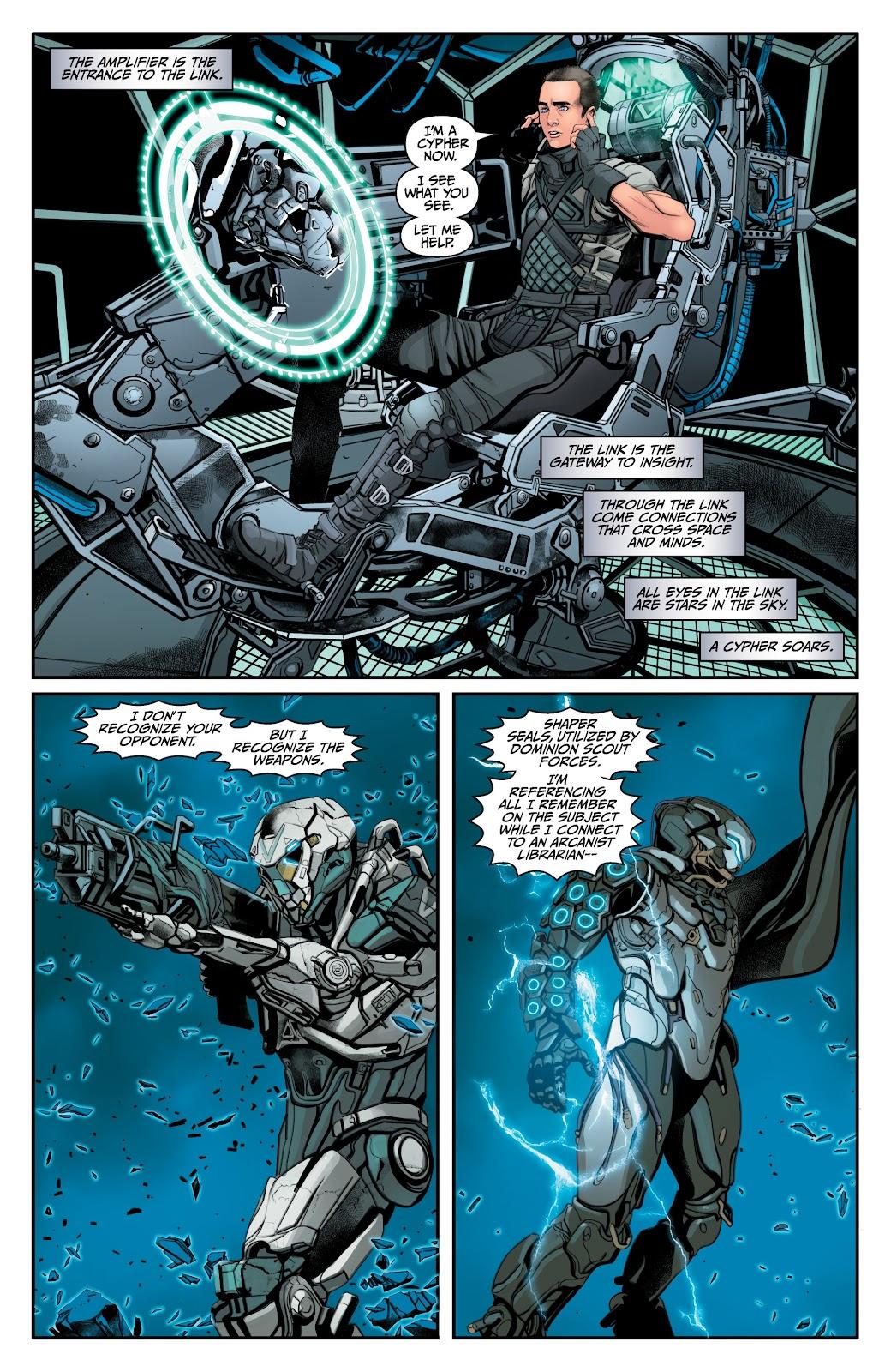 Read online Anthem comic -  Issue #2 - 13