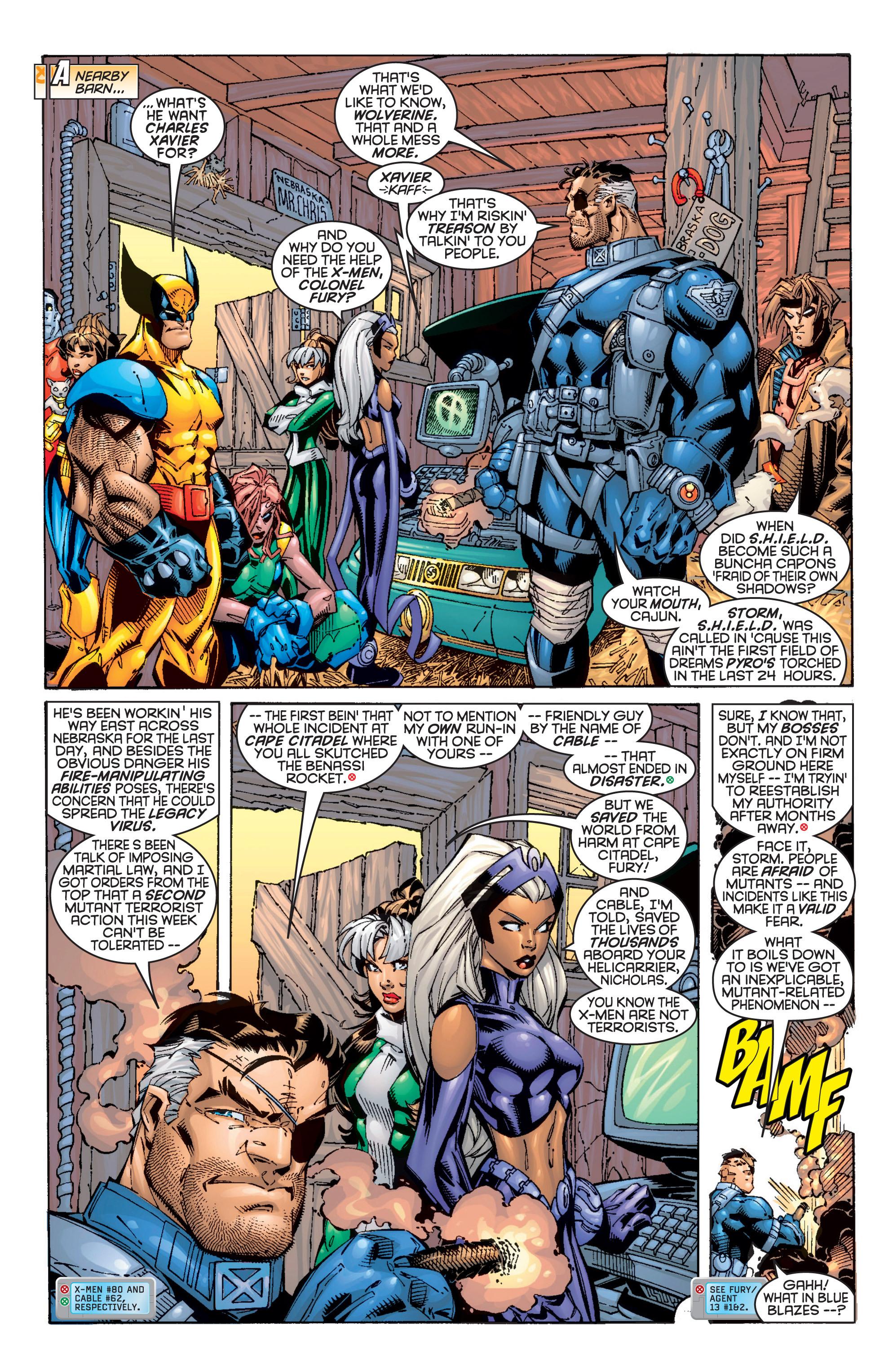 Read online Uncanny X-Men (1963) comic -  Issue #362 - 4