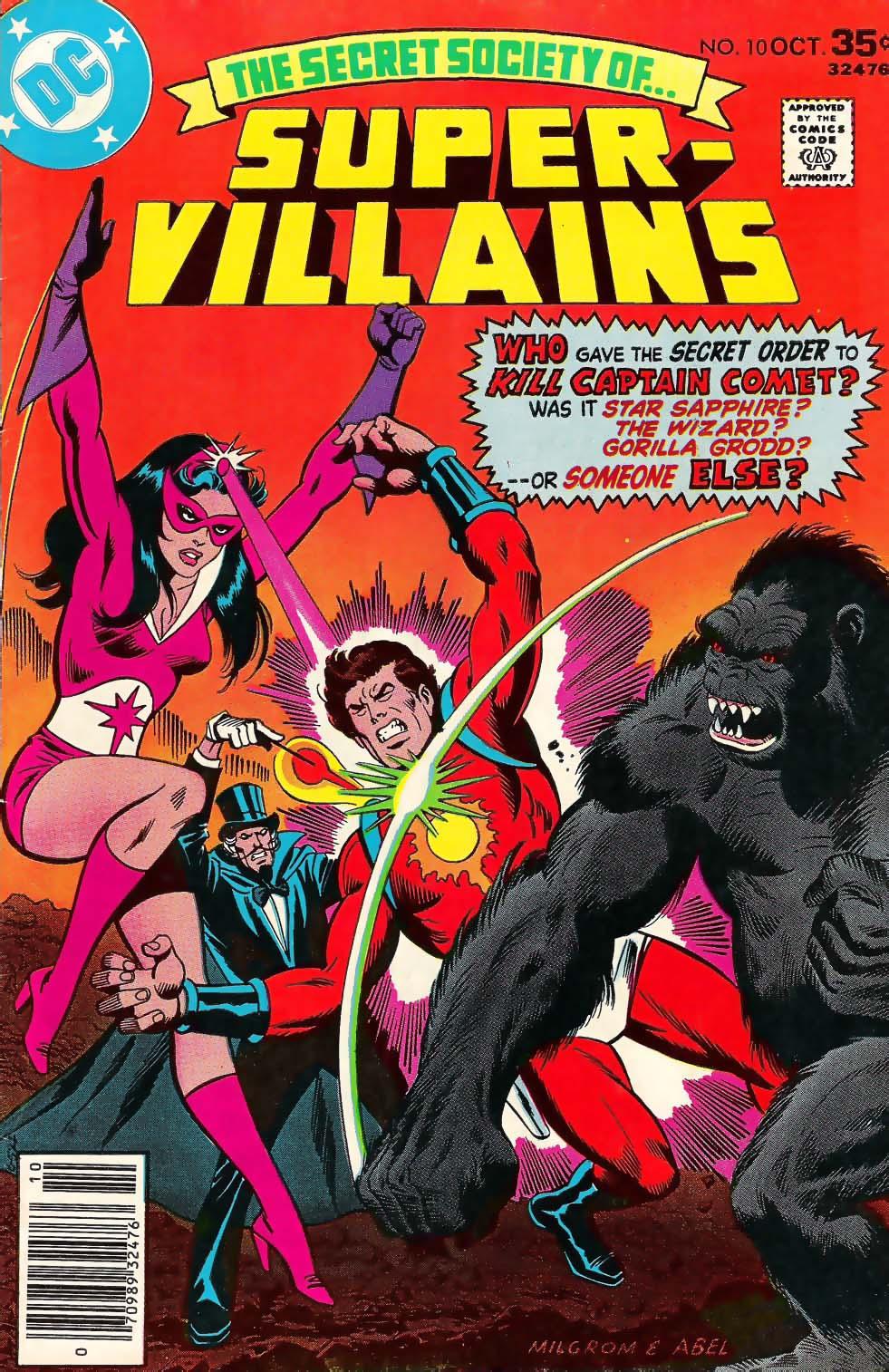 Read online Secret Society of Super-Villains comic -  Issue #10 - 1