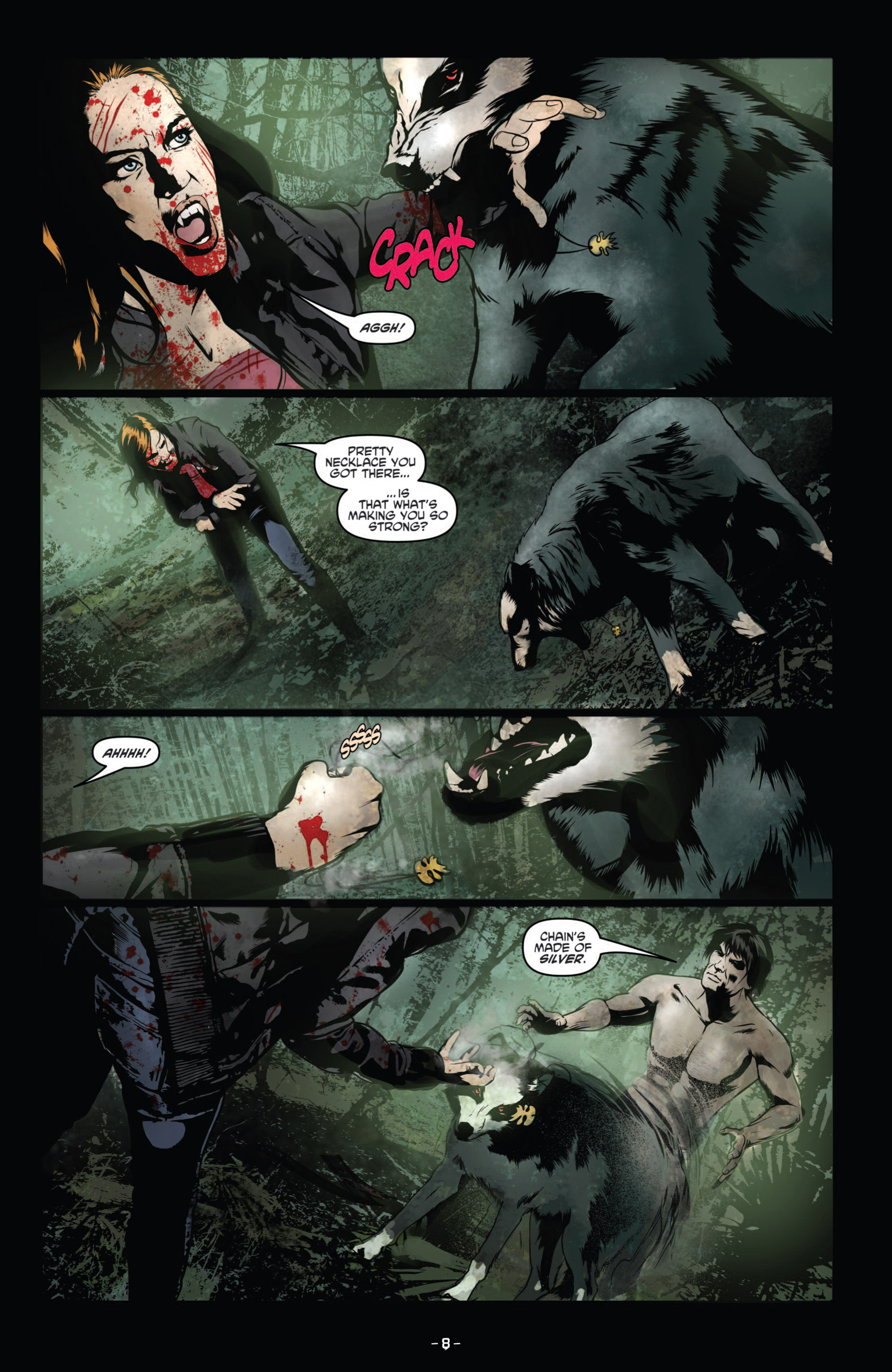 Read online True Blood (2012) comic -  Issue #9 - 10