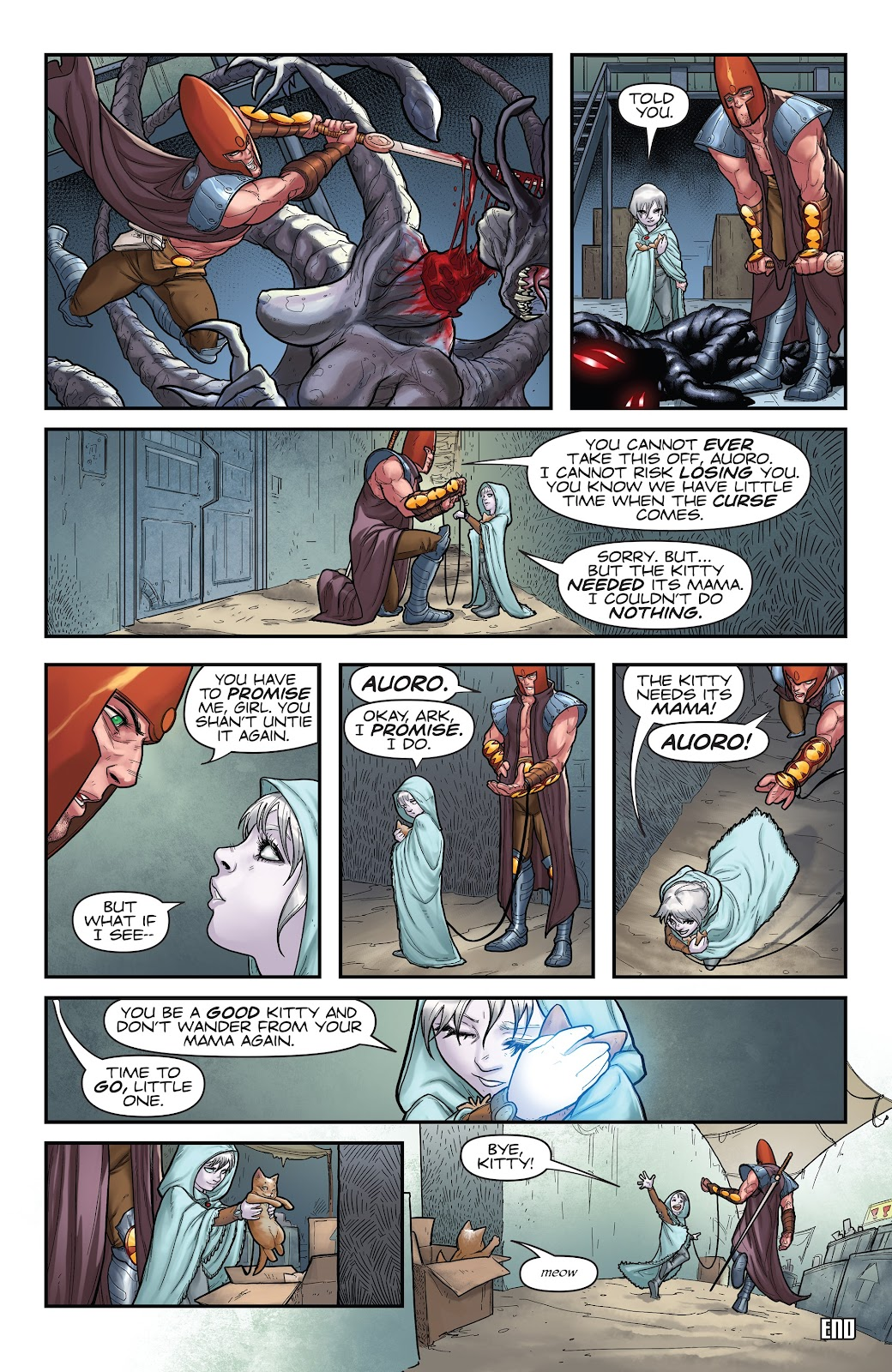 Read online Giantkillers One-Shot comic -  Issue # Full - 45