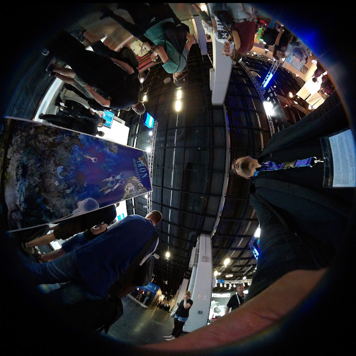 VR blogging Gamescom 2015 : Evolving VR & AR HMD use
