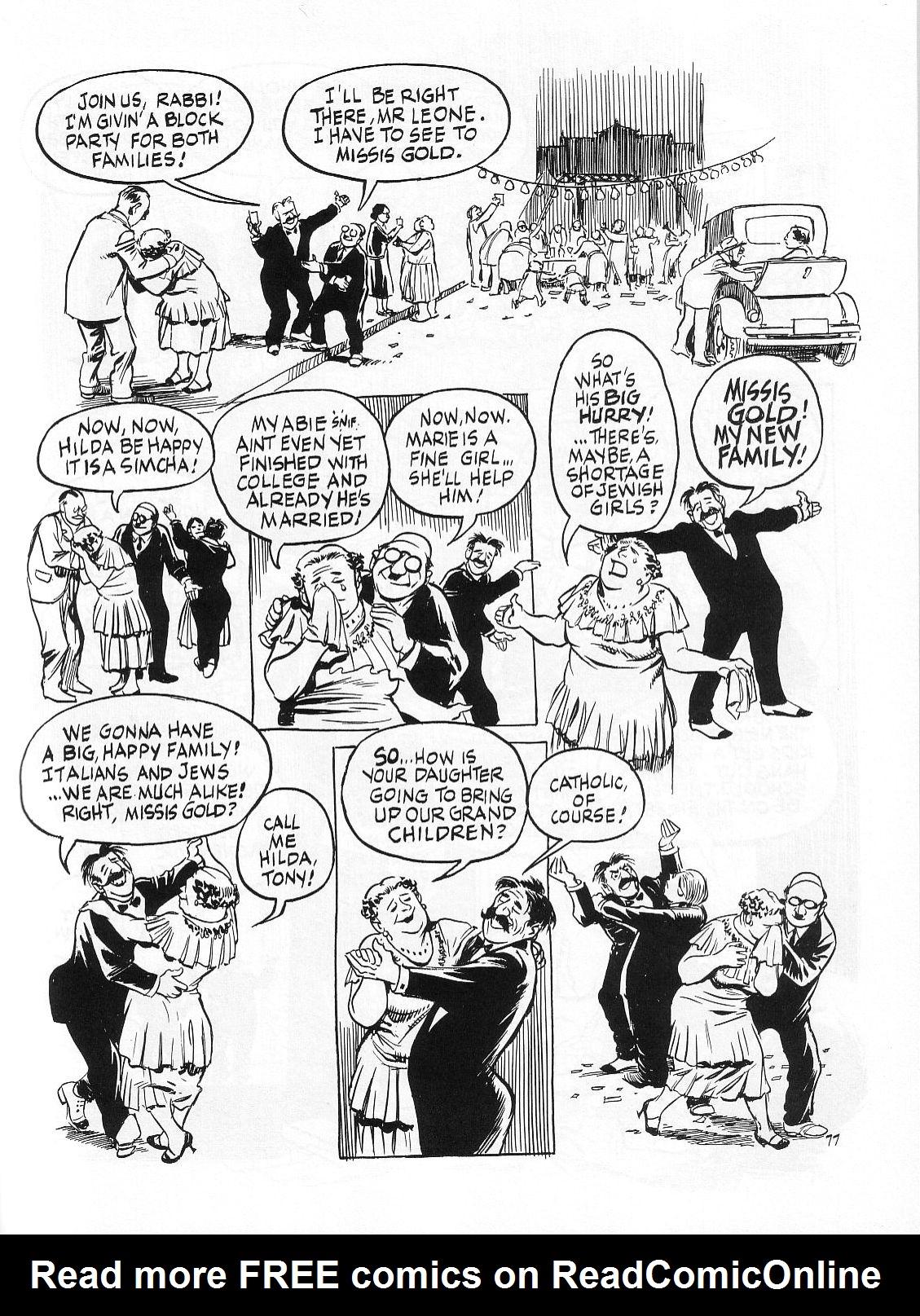Read online Dropsie Avenue, The Neighborhood comic -  Issue # Full - 79