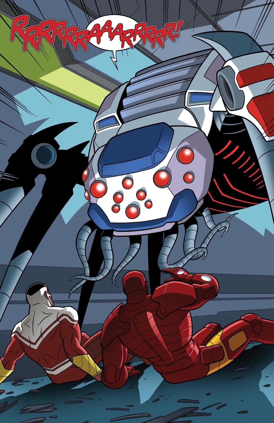 Read online Marvel Universe Avengers Assemble Season 2 comic -  Issue #1 - 28