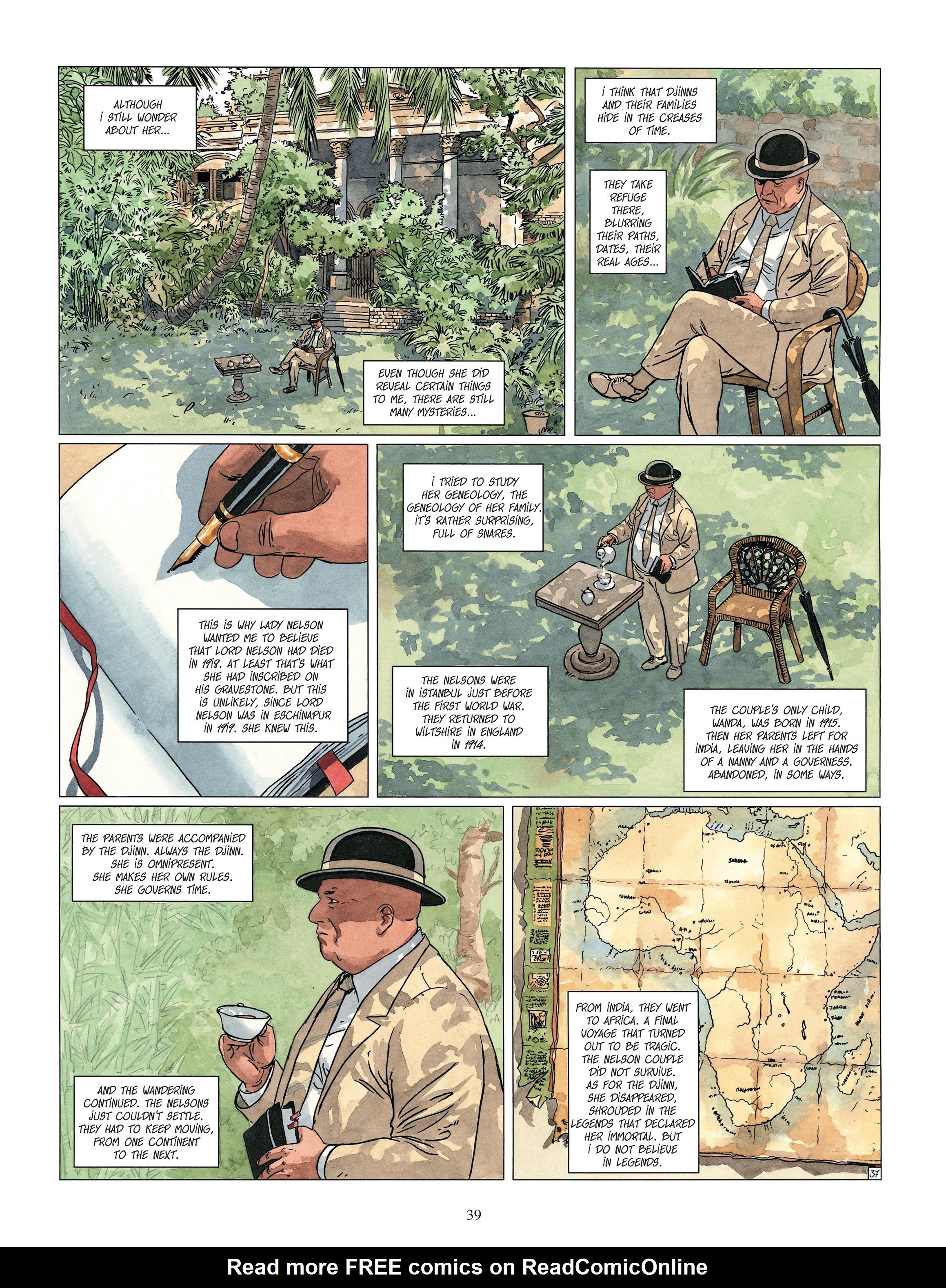 Read online Djinn comic -  Issue #13 - 40