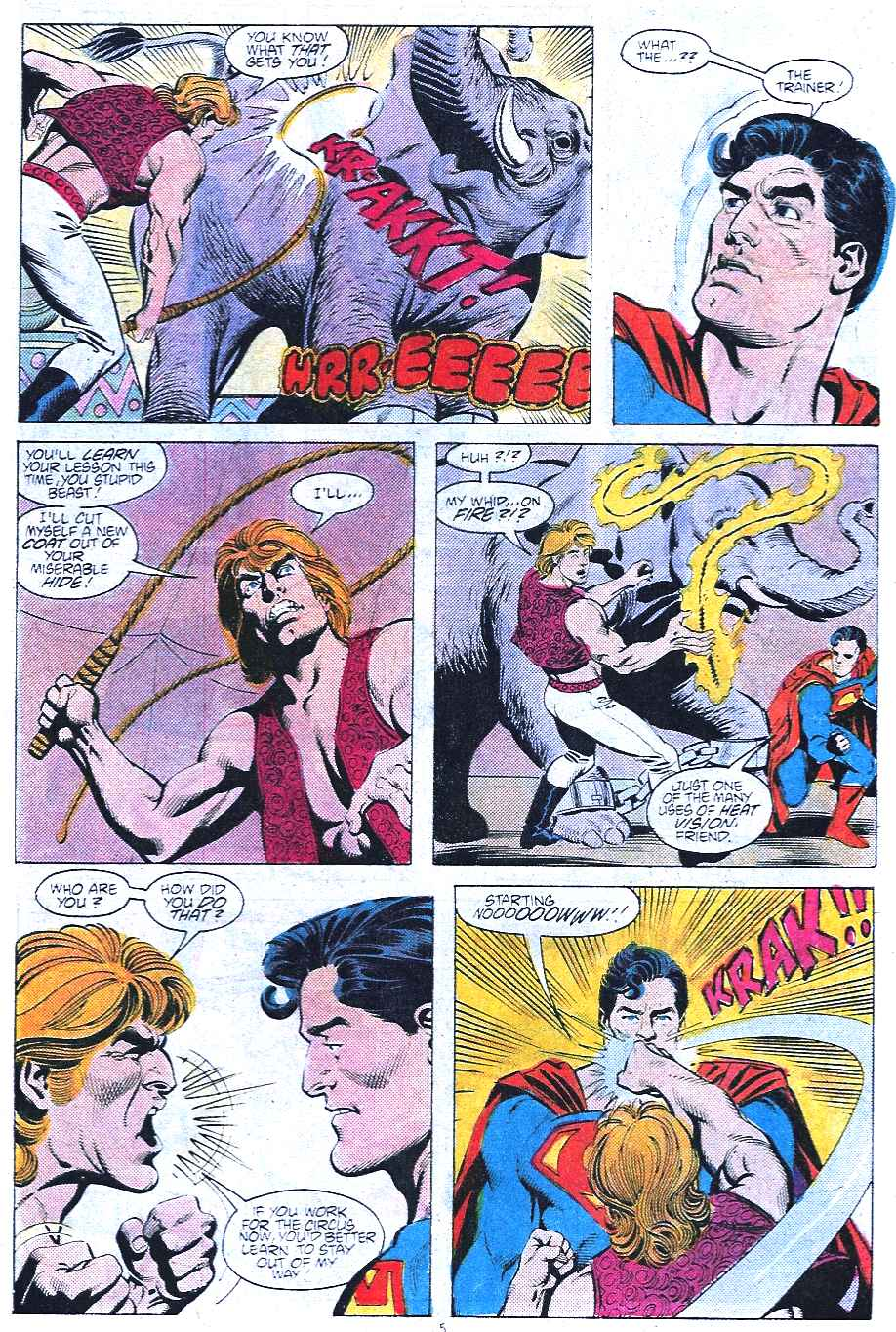 Read online Adventures of Superman (1987) comic -  Issue #438 - 6