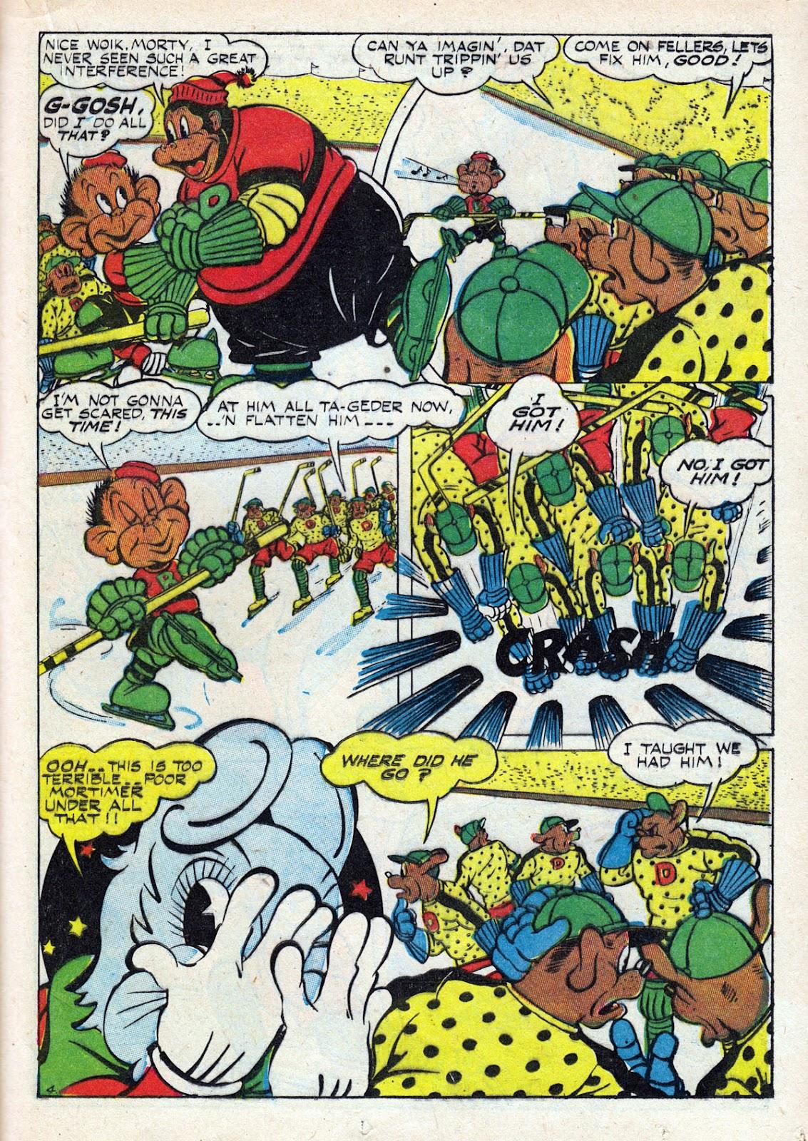 Read online Comedy Comics (1942) comic -  Issue #14 - 39