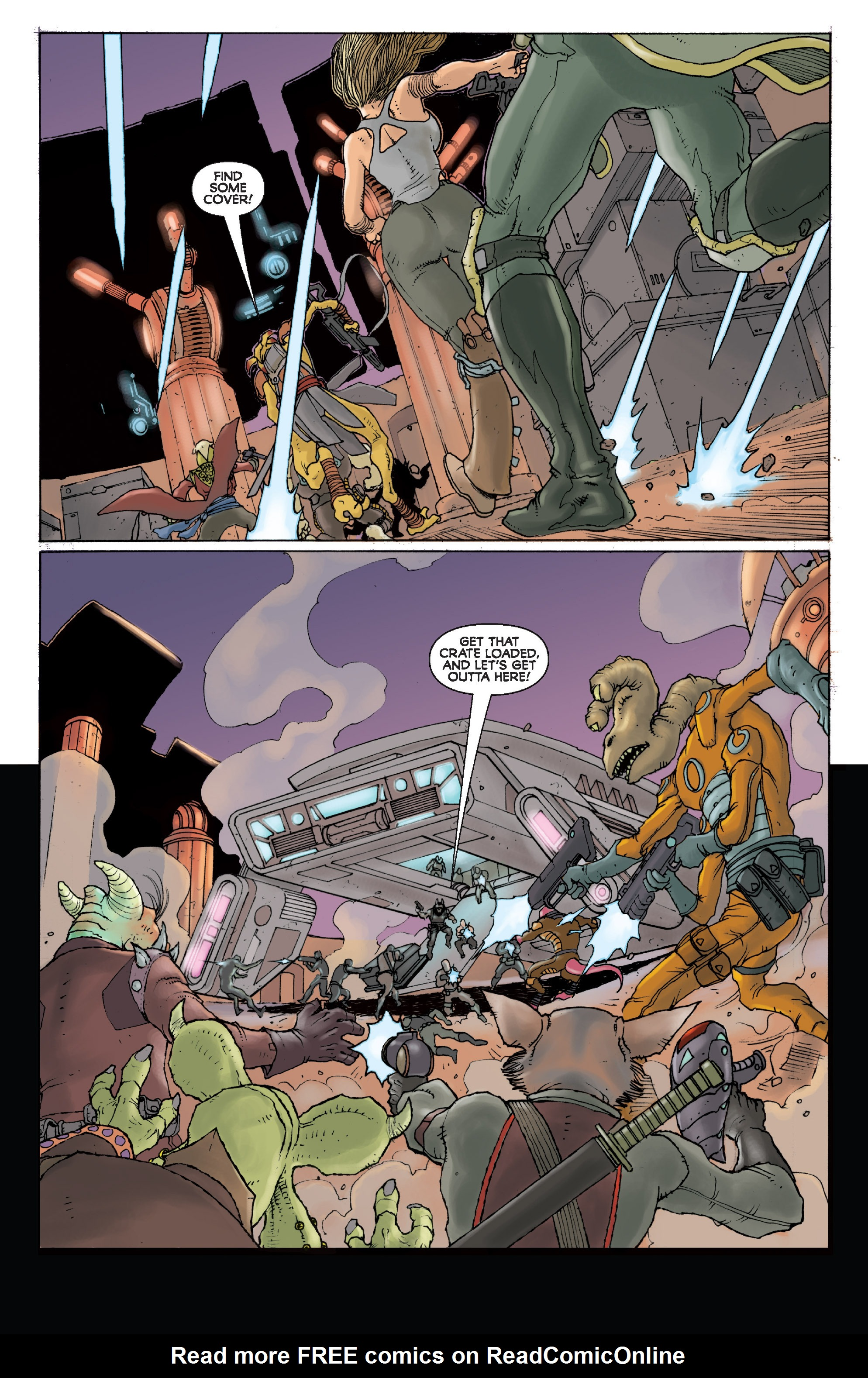 Read online Star Wars Omnibus comic -  Issue # Vol. 31 - 214