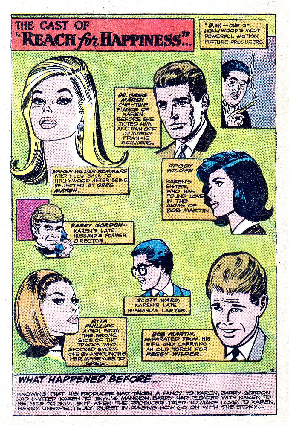 Read online Secret Hearts comic -  Issue #131 - 20