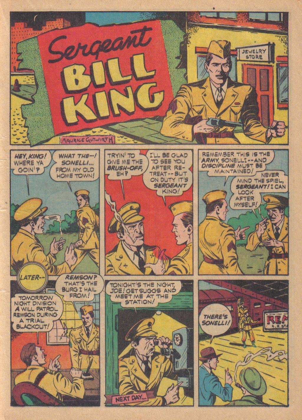 Exciting Comics (1940) issue 13 - Page 25