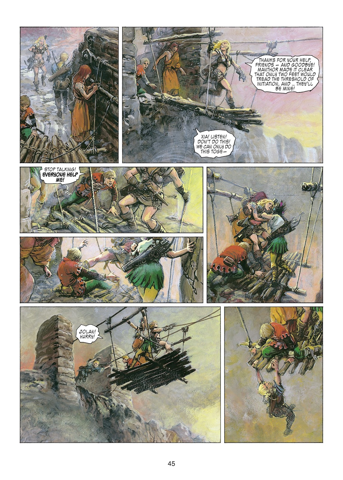Read online Thorgal comic -  Issue #22 - 47