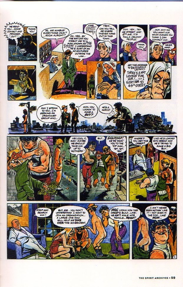 Read online Will Eisner's The Spirit Archives comic -  Issue # TPB 26 (Part 1) - 66