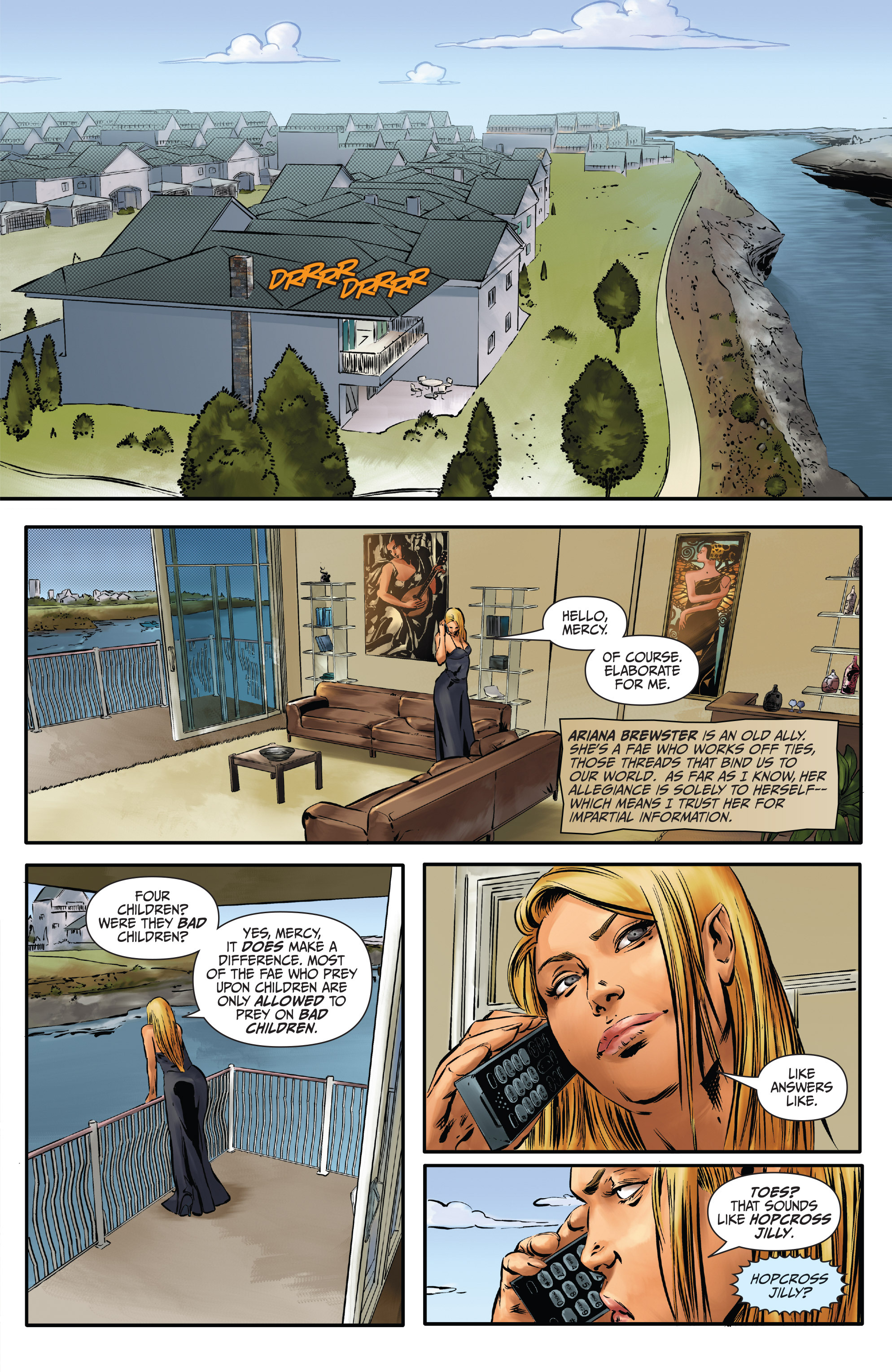 Read online Mercy Thompson comic -  Issue #3 - 17
