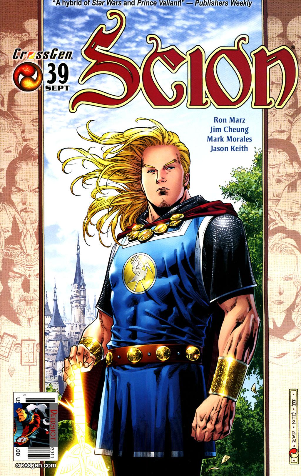 Read online Scion comic -  Issue #39 - 1