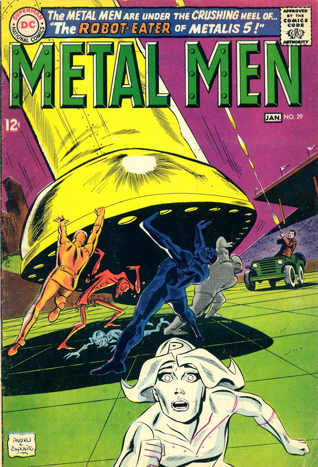 Metal Men (1963) issue 29 - Page 1