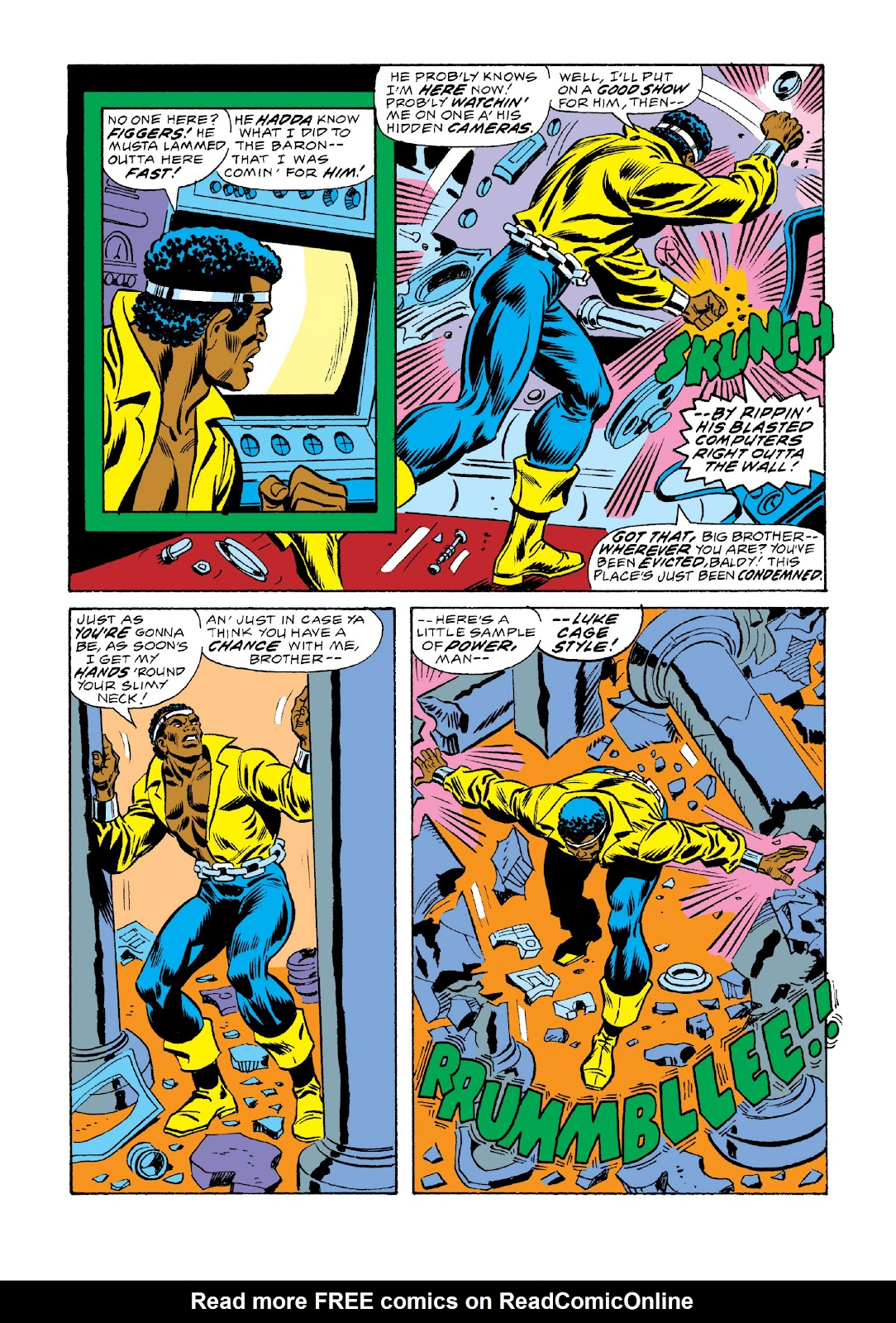 Read online Marvel Masterworks: Luke Cage, Power Man comic -  Issue # TPB 3 (Part 2) - 75