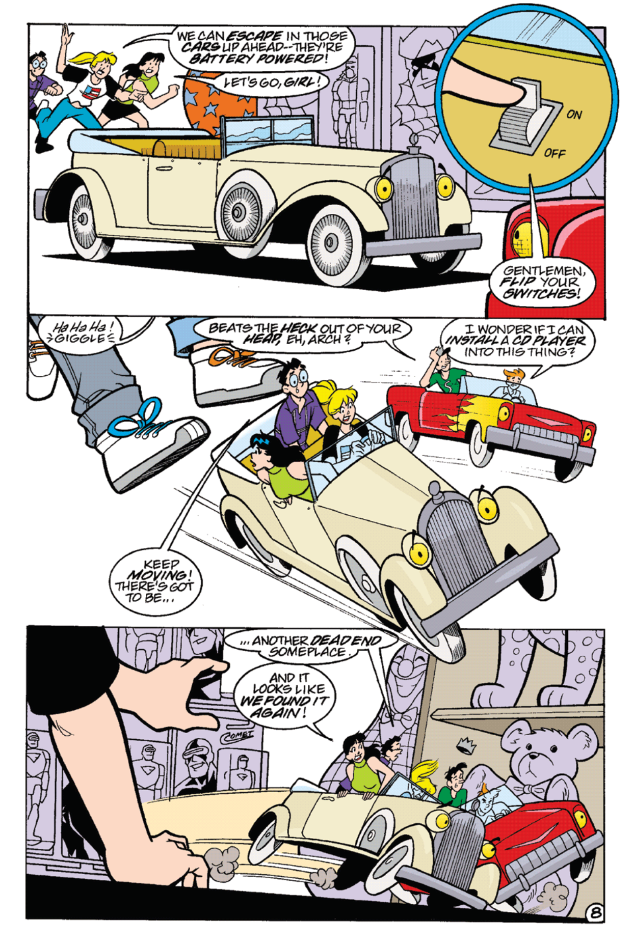 Read online Archie's Weird Mysteries comic -  Issue #22 - 11
