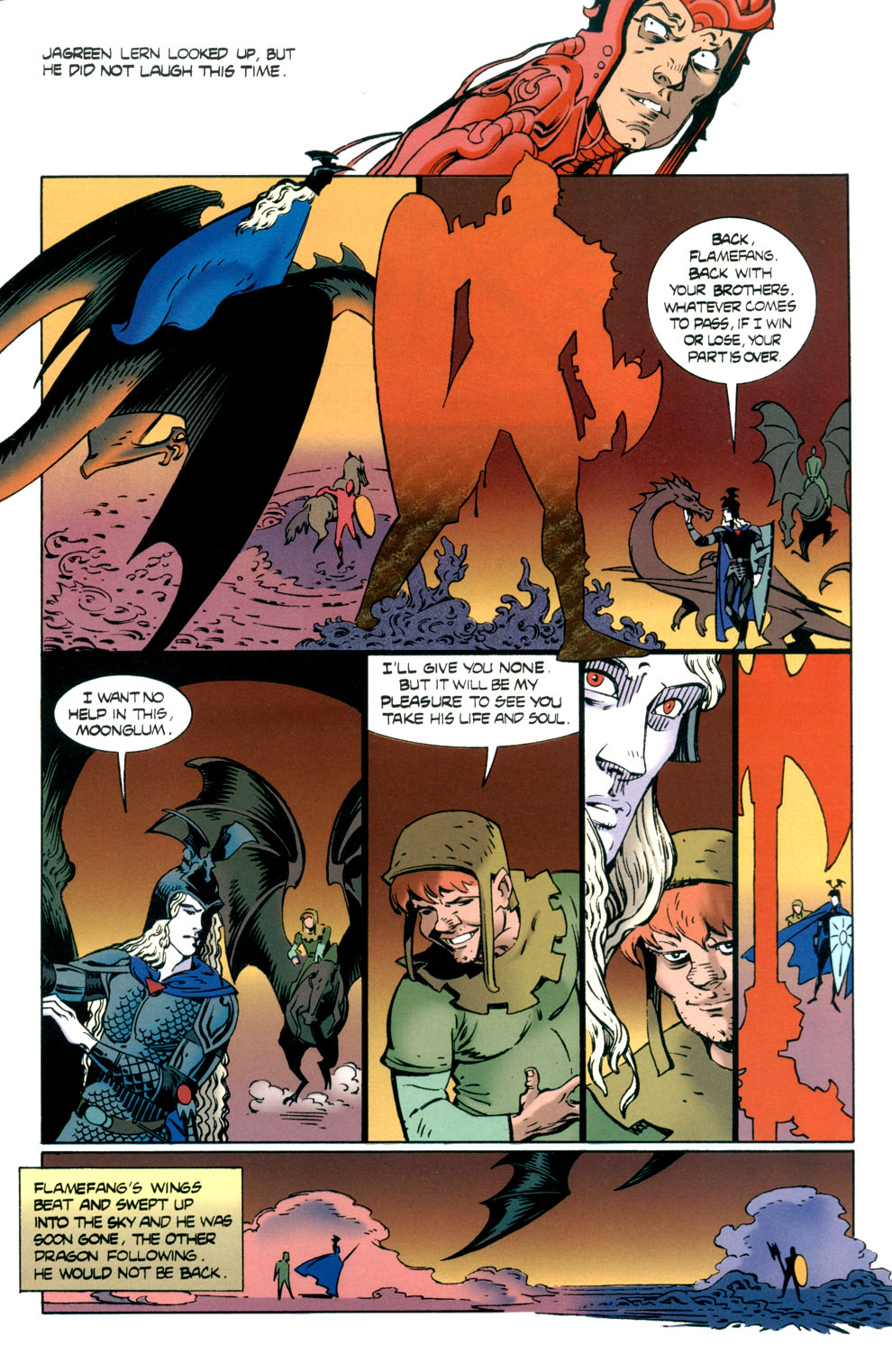 Read online Elric: Stormbringer comic -  Issue #7 - 13