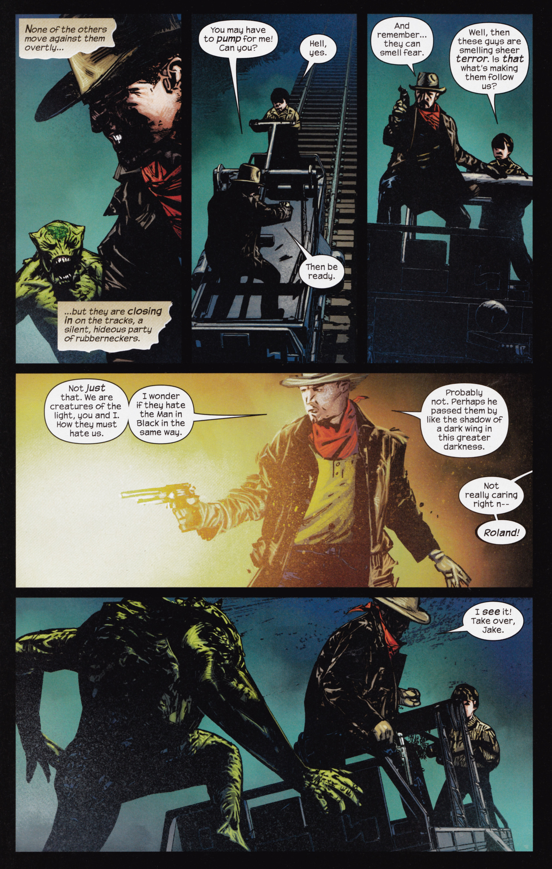 Read online Dark Tower: The Gunslinger - The Man in Black comic -  Issue #3 - 4