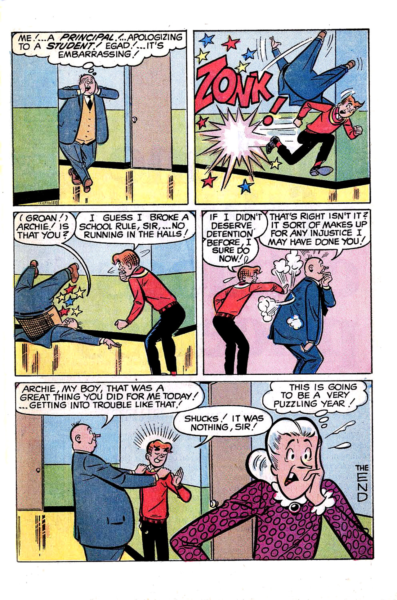 Read online Archie (1960) comic -  Issue #197 - 33