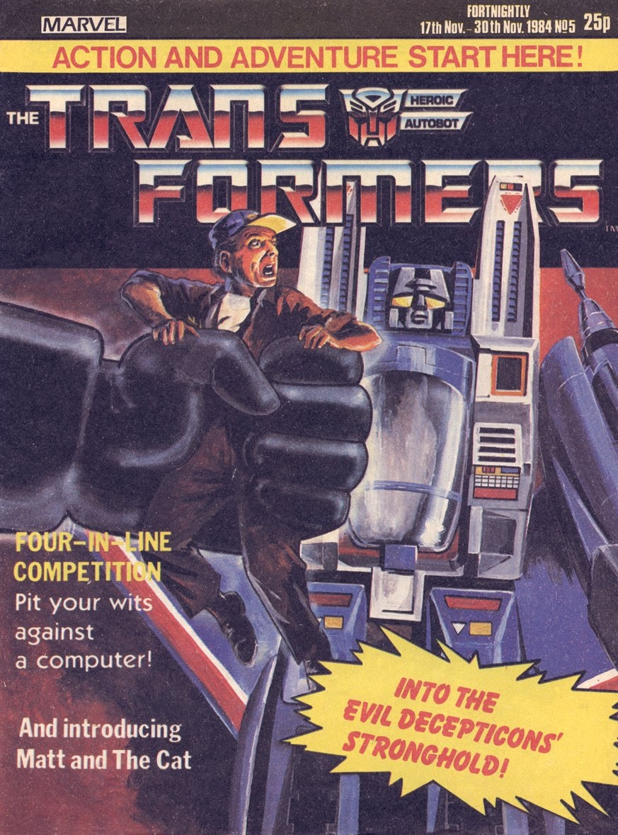 The Transformers (UK) 5 Page 1