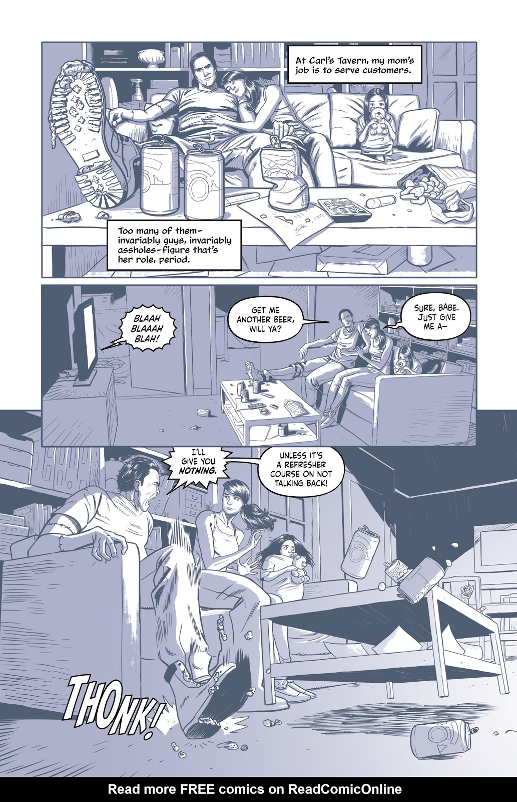 Read online Under the Moon: A Catwoman Tale comic -  Issue # TPB (Part 1) - 11