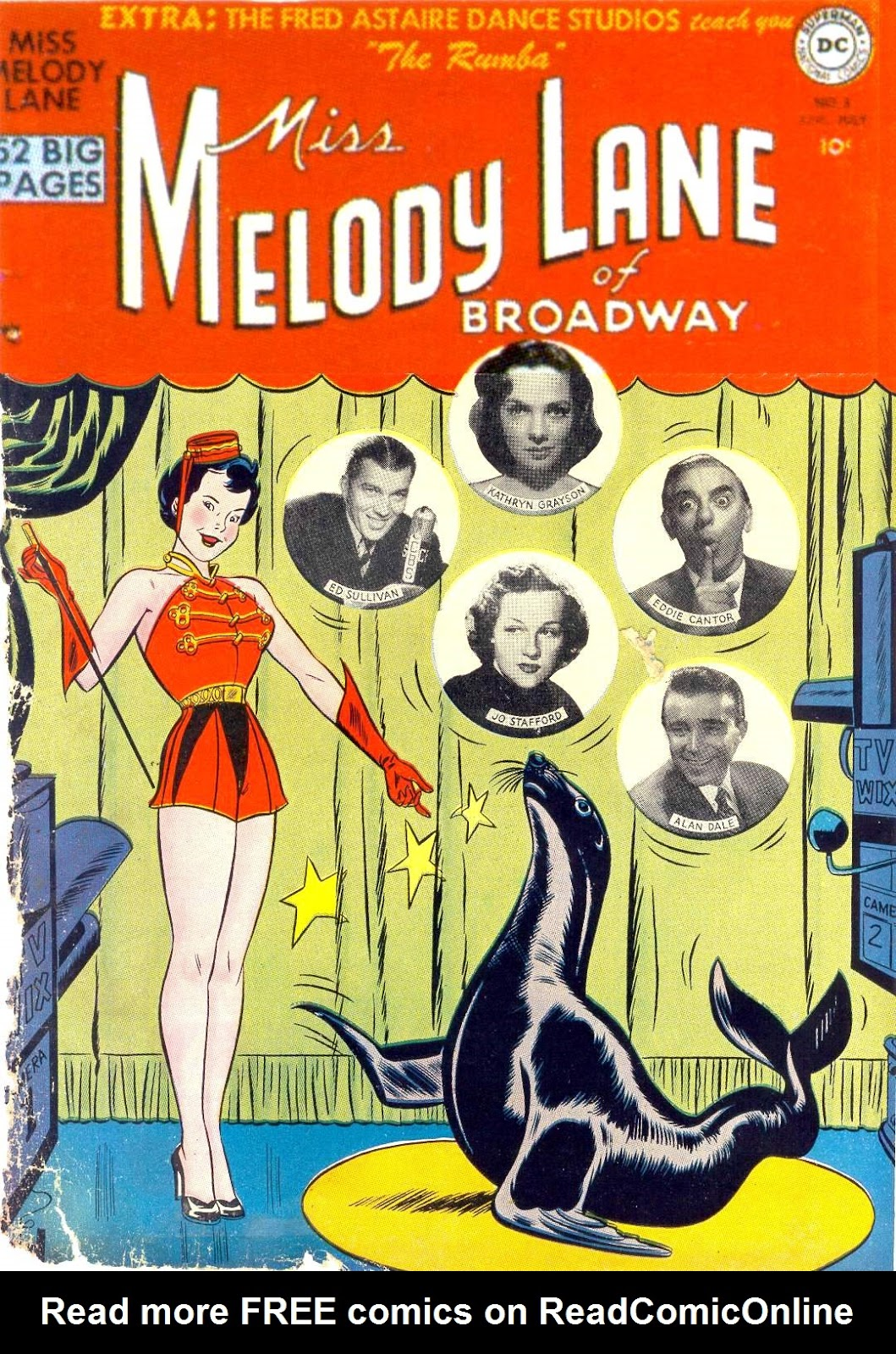 Miss Melody Lane of Broadway issue 3 - Page 1