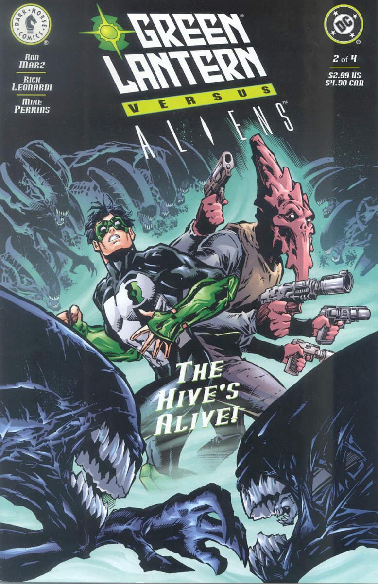Green Lantern vs. Aliens 2 Page 1