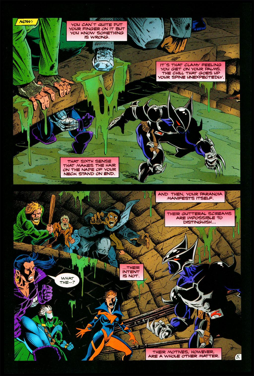 Read online ShadowHawk comic -  Issue #11 - 6