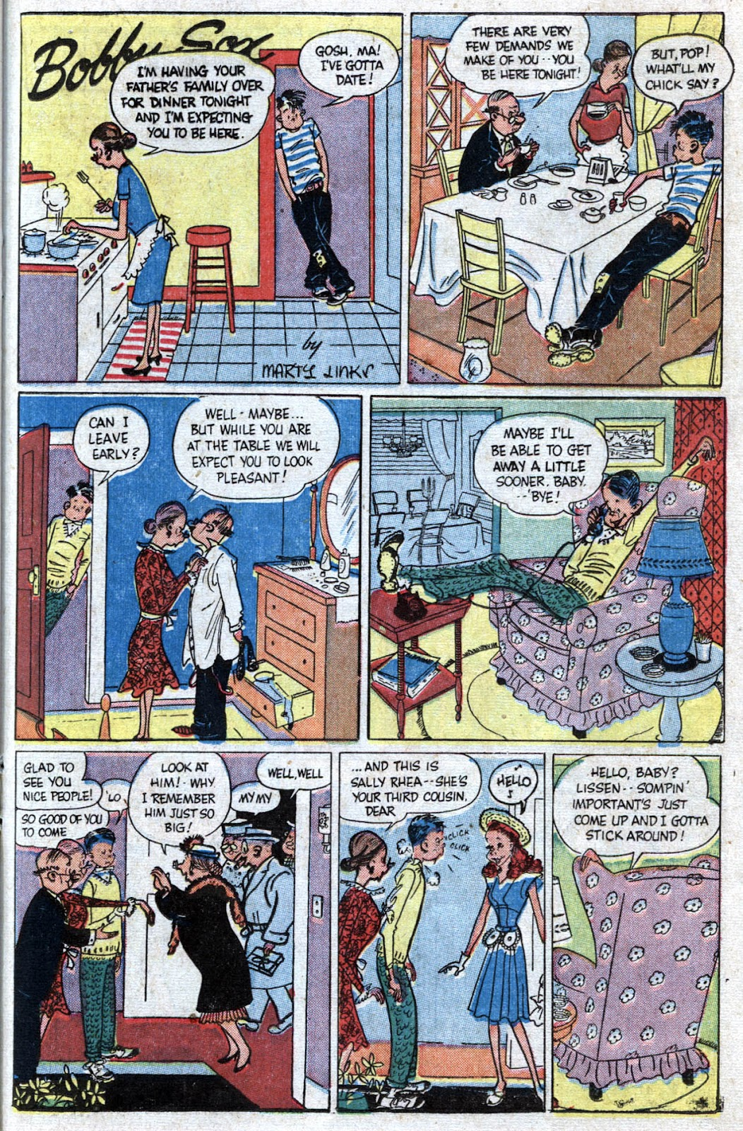 Read online Famous Funnies comic -  Issue #173 - 31