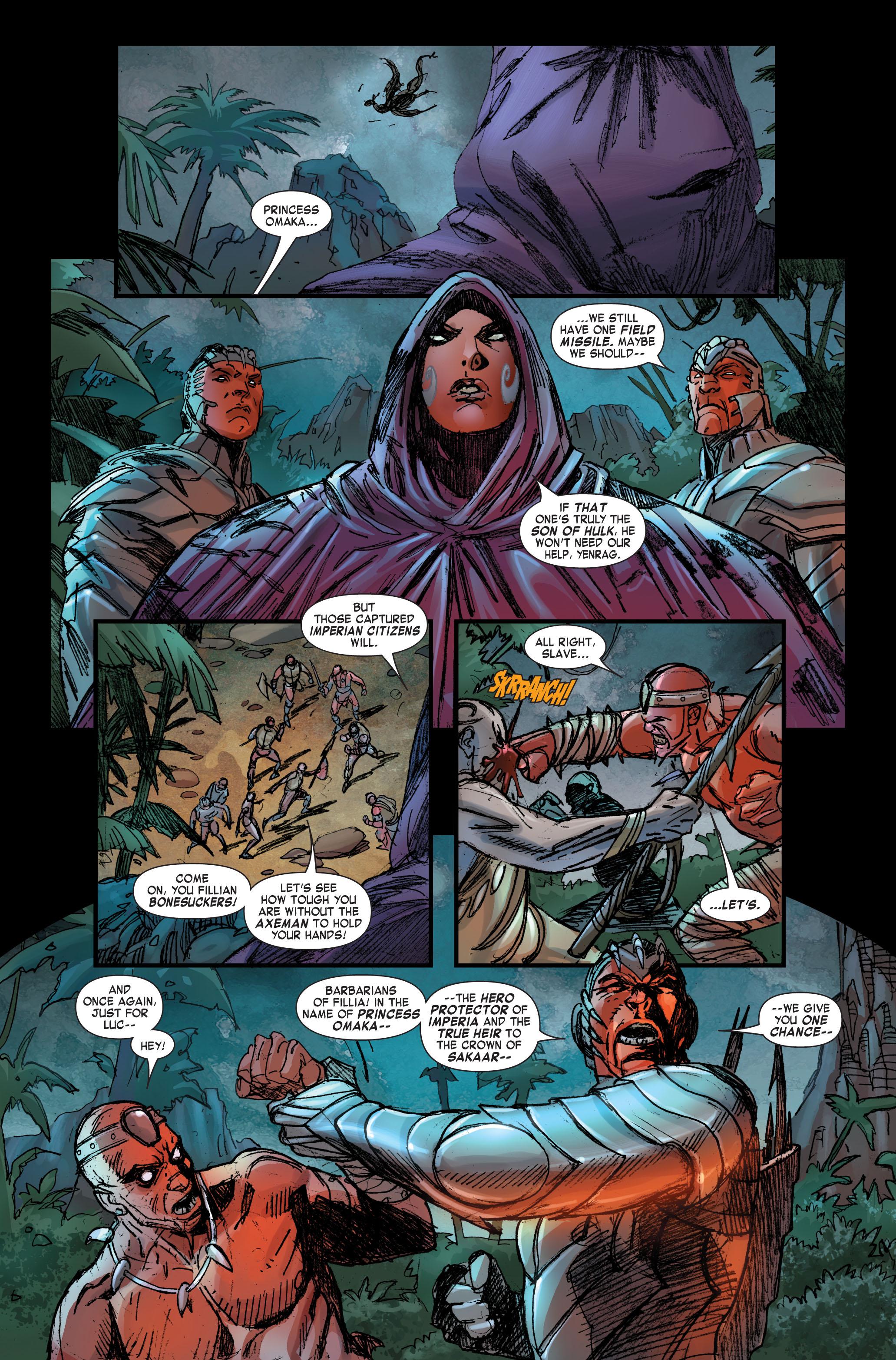 Read online Skaar: Son of Hulk comic -  Issue #2 - 9