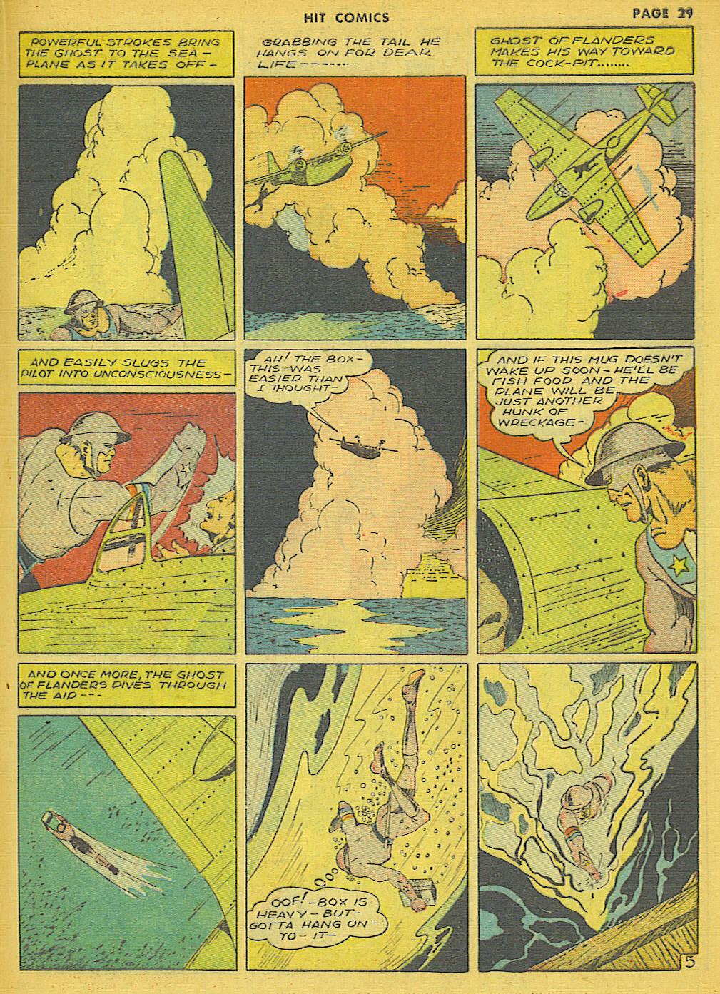 Read online Hit Comics comic -  Issue #21 - 31