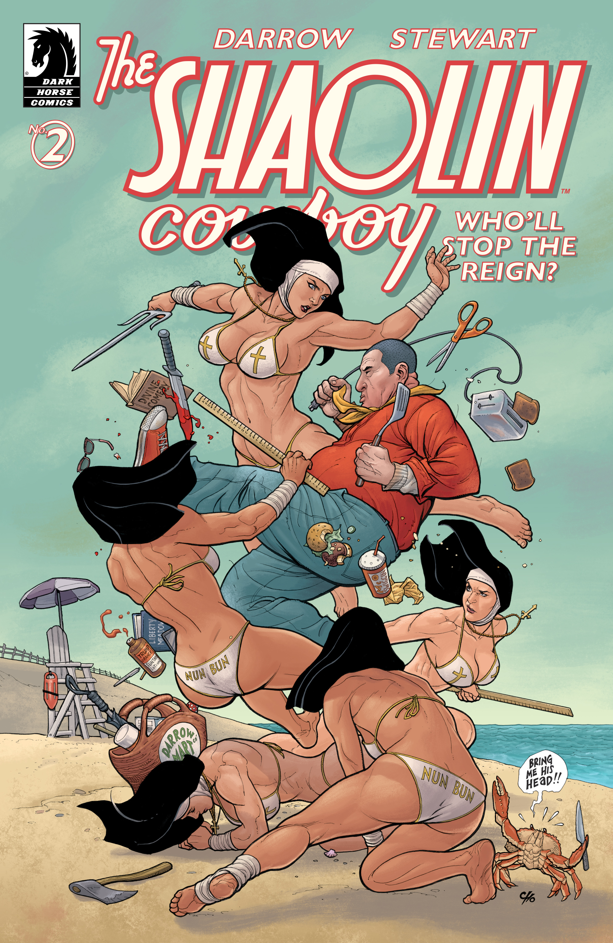 The Shaolin Cowboy: Wholl Stop the Reign? 2 Page 2