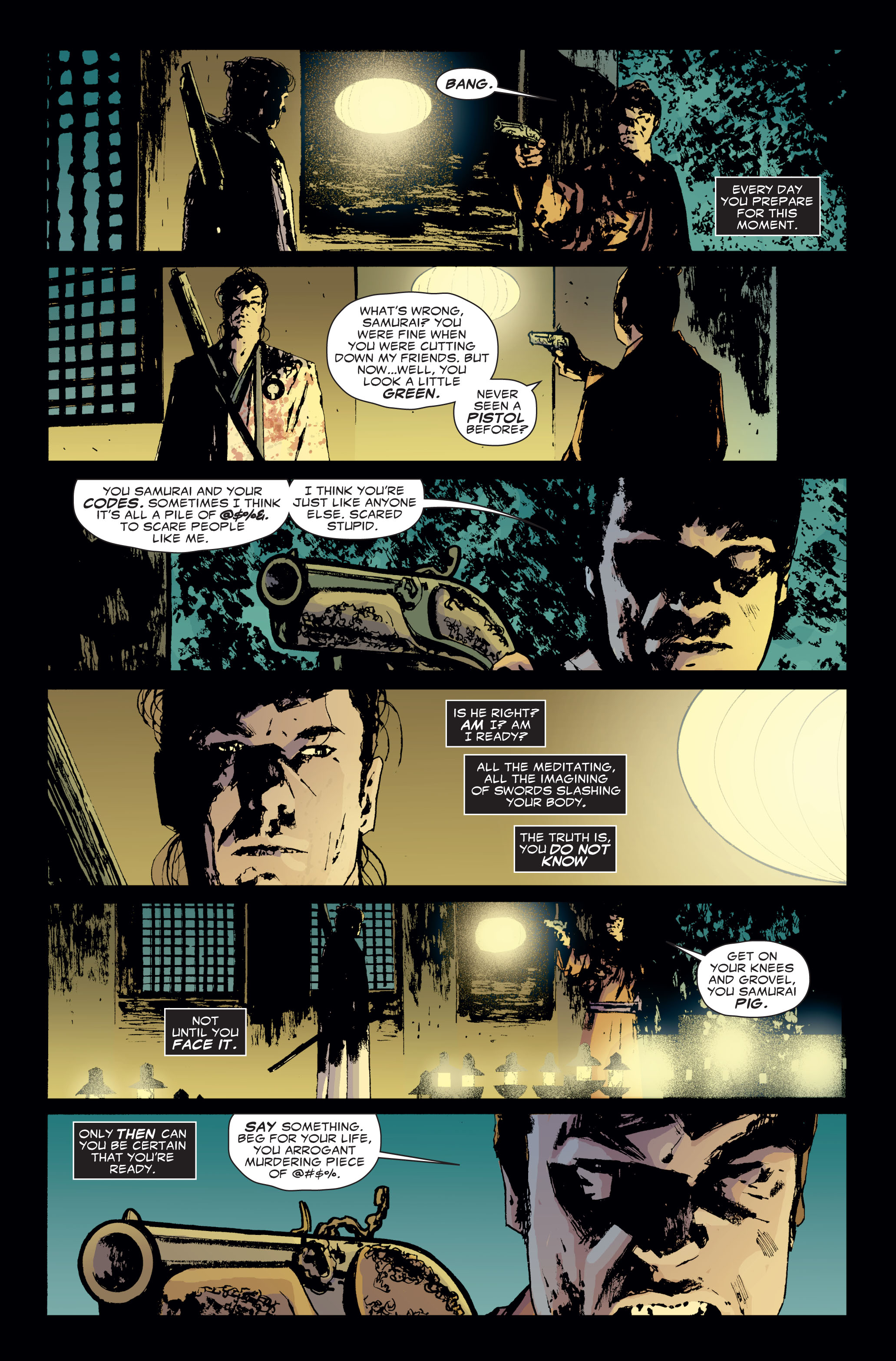 Read online 5 Ronin (2011) comic -  Issue #3 - 21