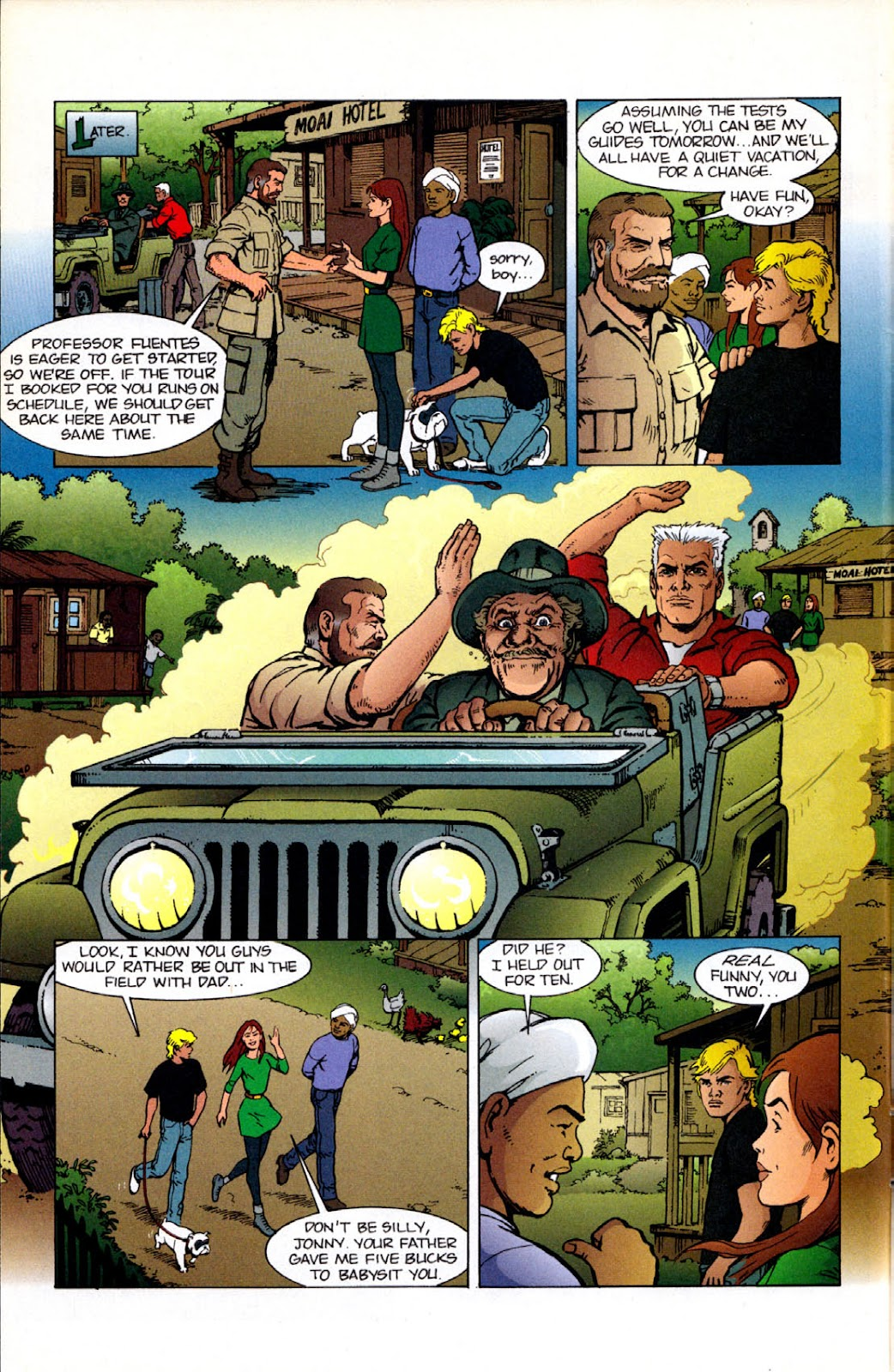 Read online The Real Adventures of Jonny Quest comic -  Issue #12 - 8