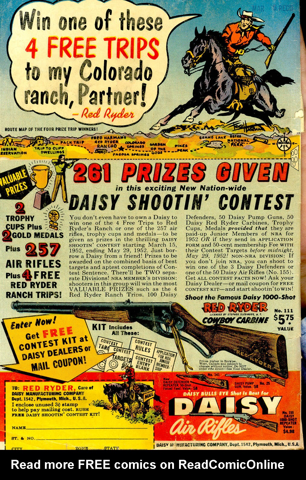 Read online All-Star Western (1951) comic -  Issue #64 - 36